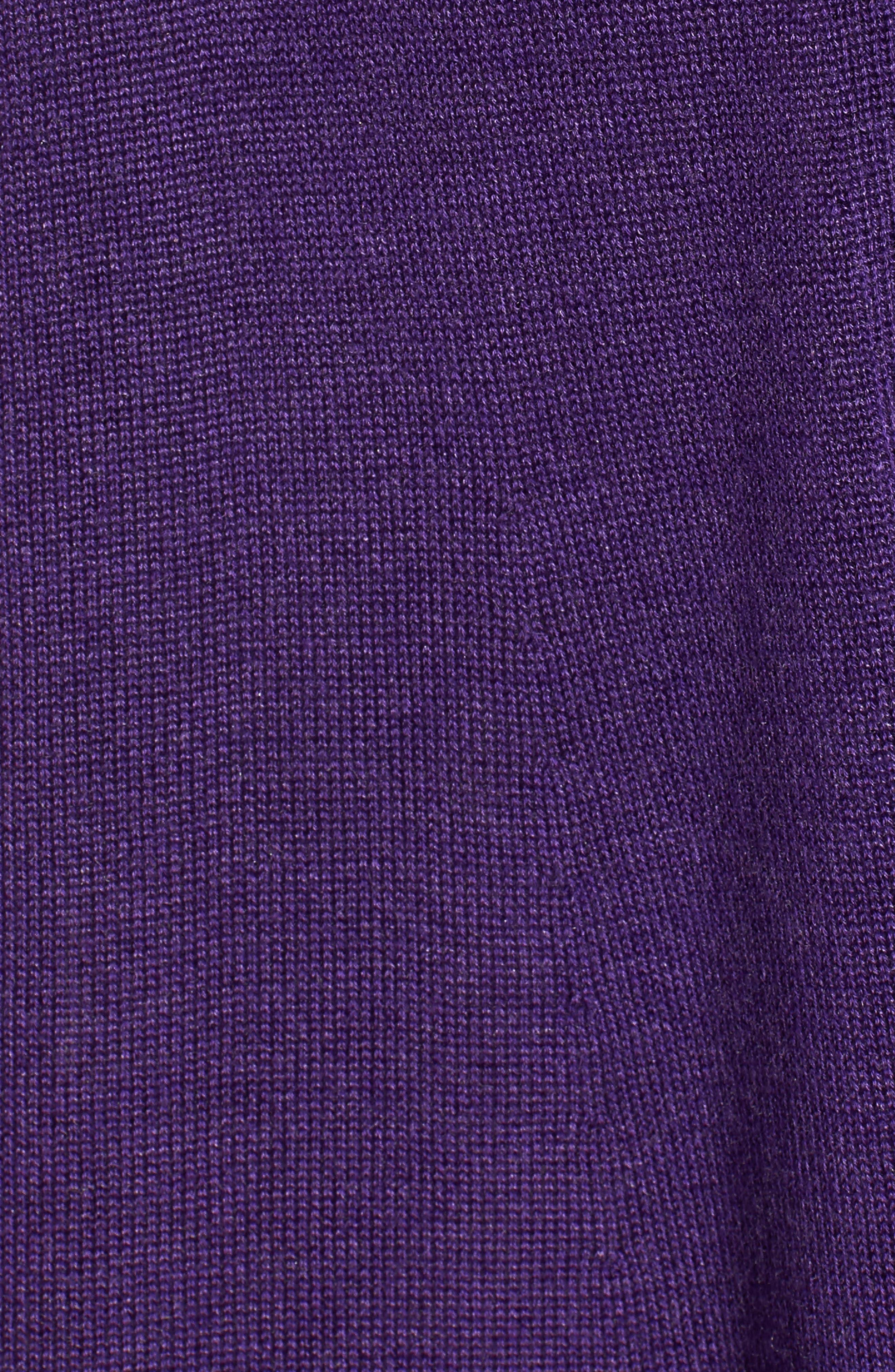 Tencel<sup>®</sup> Lyocell & Merino Wool Shaped Cardigan,                             Alternate thumbnail 24, color,