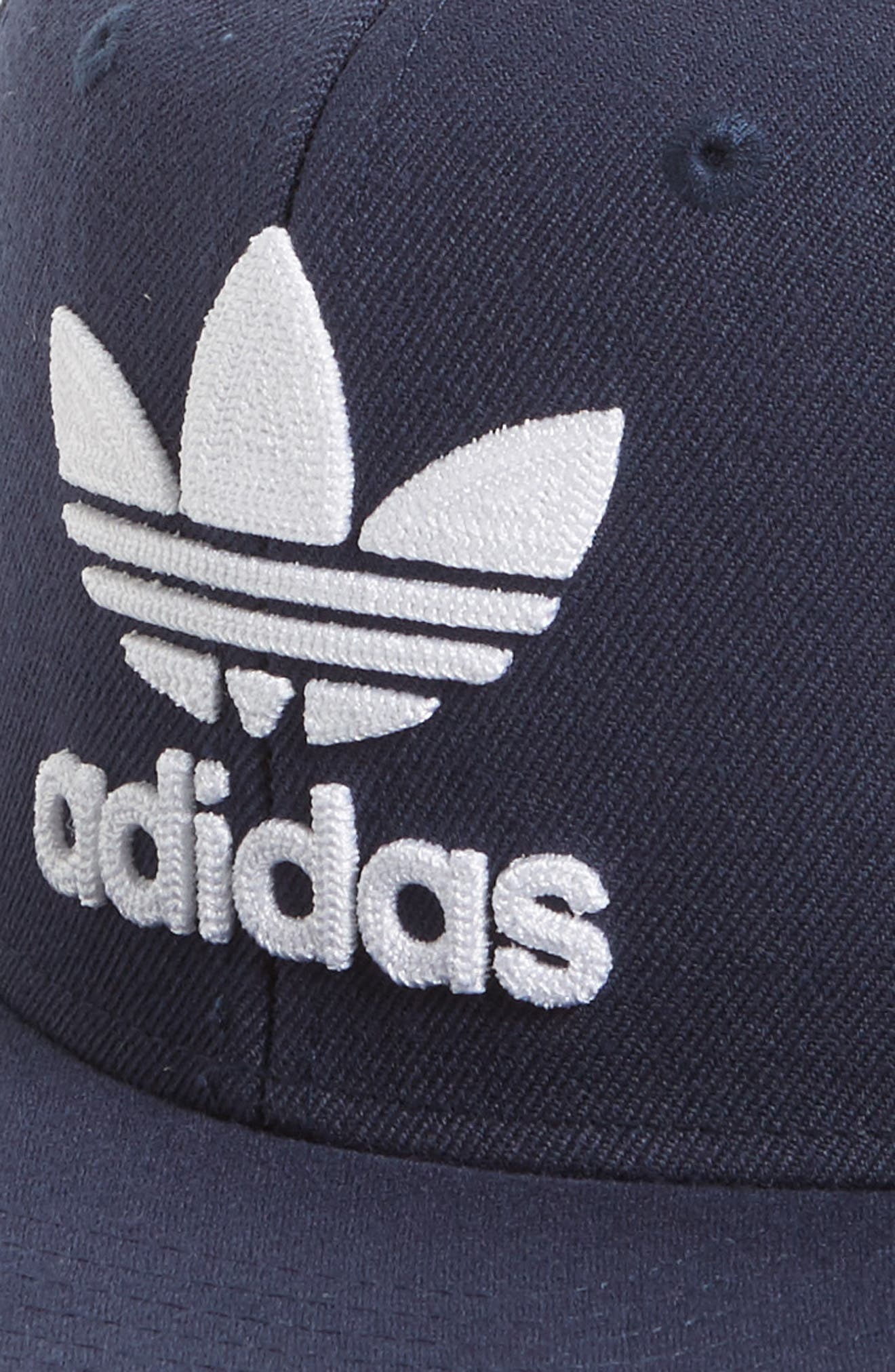adidas Trefoil Chain Snapback Baseball Cap,                             Alternate thumbnail 3, color,                             400