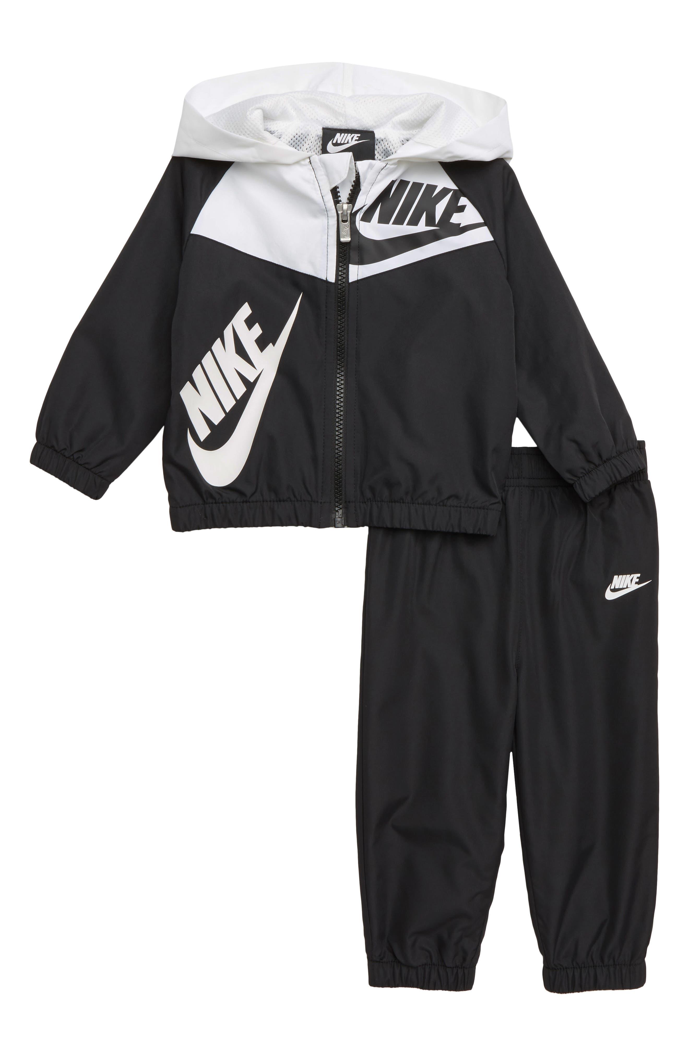 Infant Boys Nike Split Futura Windrunner Hooded Jacket  Track Pants