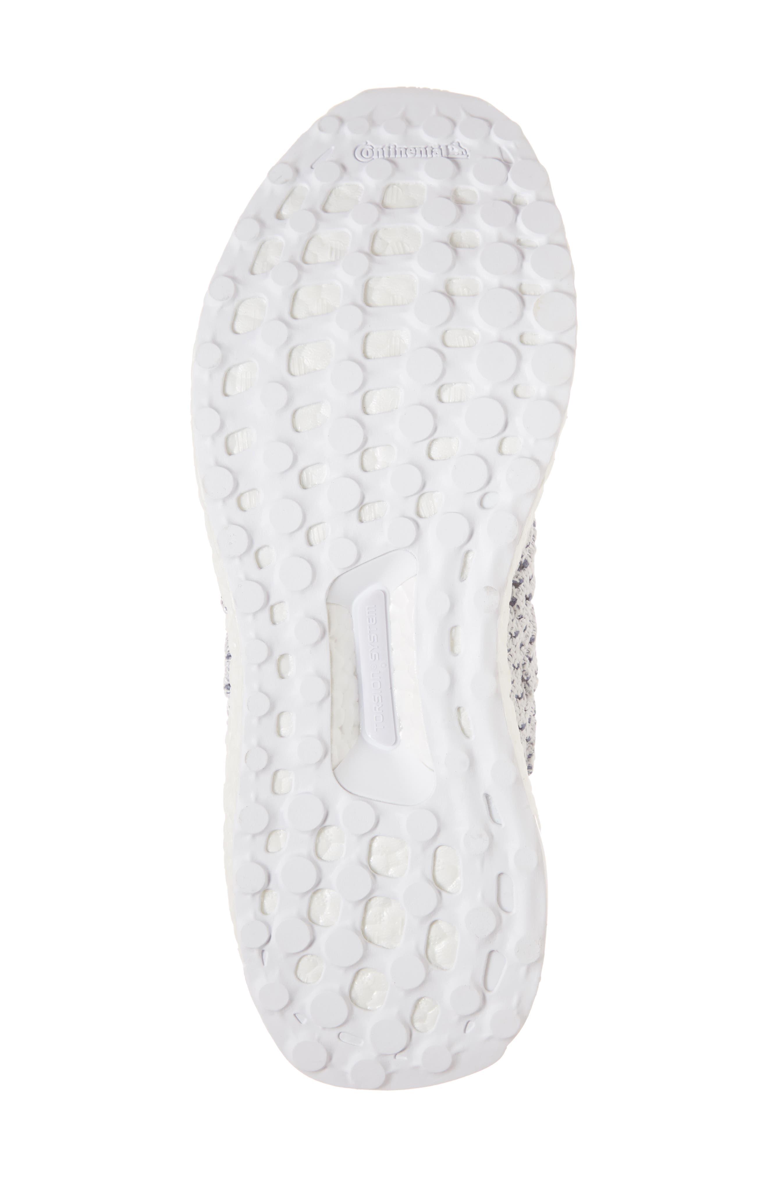 Parley UltraBoost Sneaker,                             Alternate thumbnail 6, color,                             WHITE/ BLUE SPIRIT