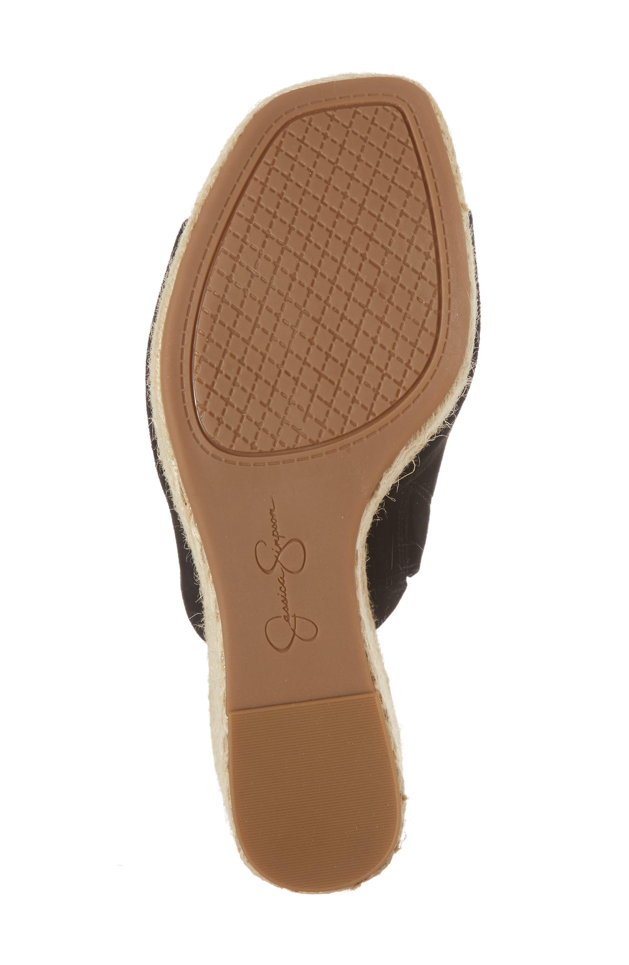 Sirella Platform Wedge Slide Sandal,                             Alternate thumbnail 16, color,
