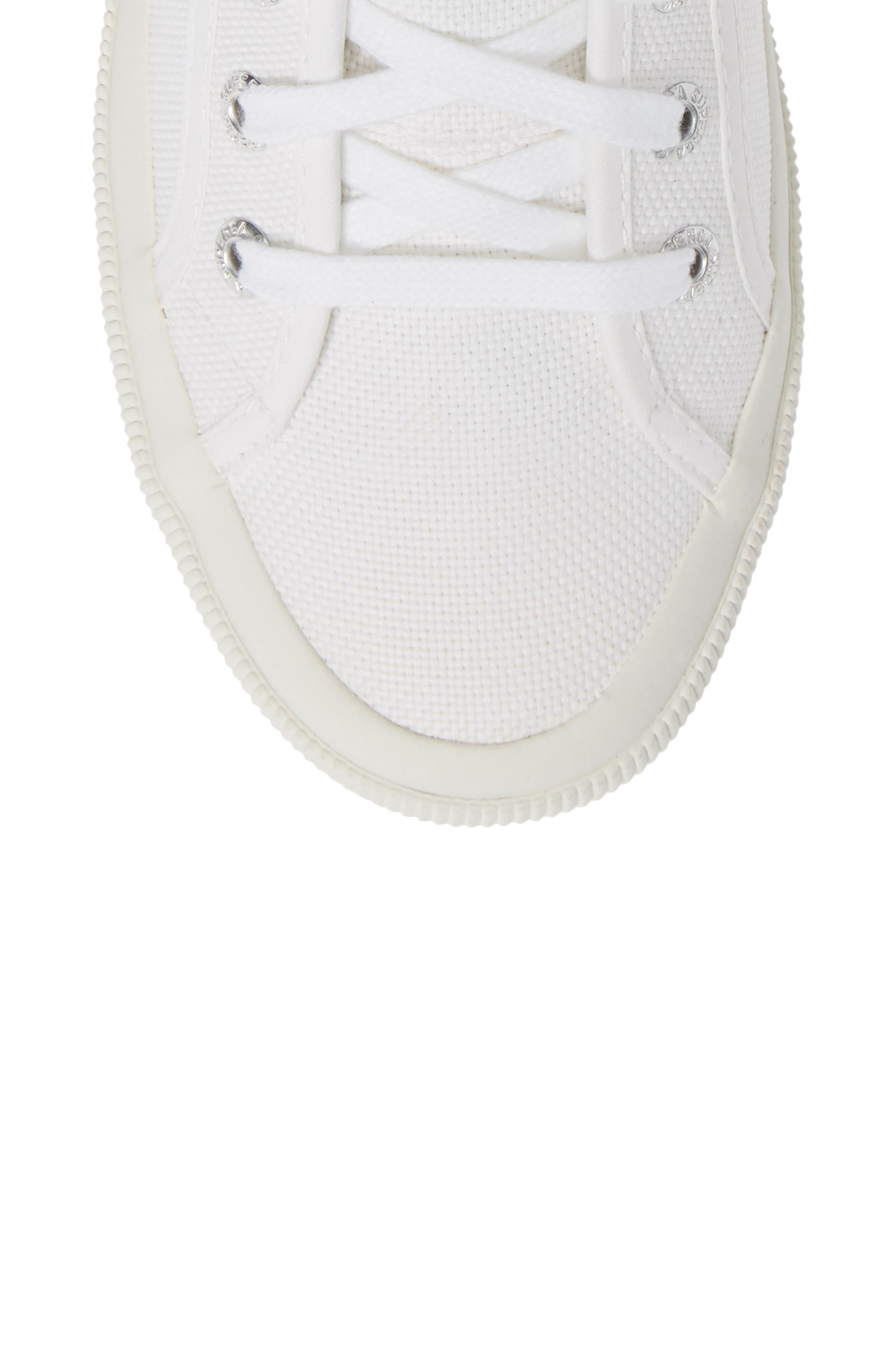2795 High Top Sneaker,                             Alternate thumbnail 5, color,                             WHITE