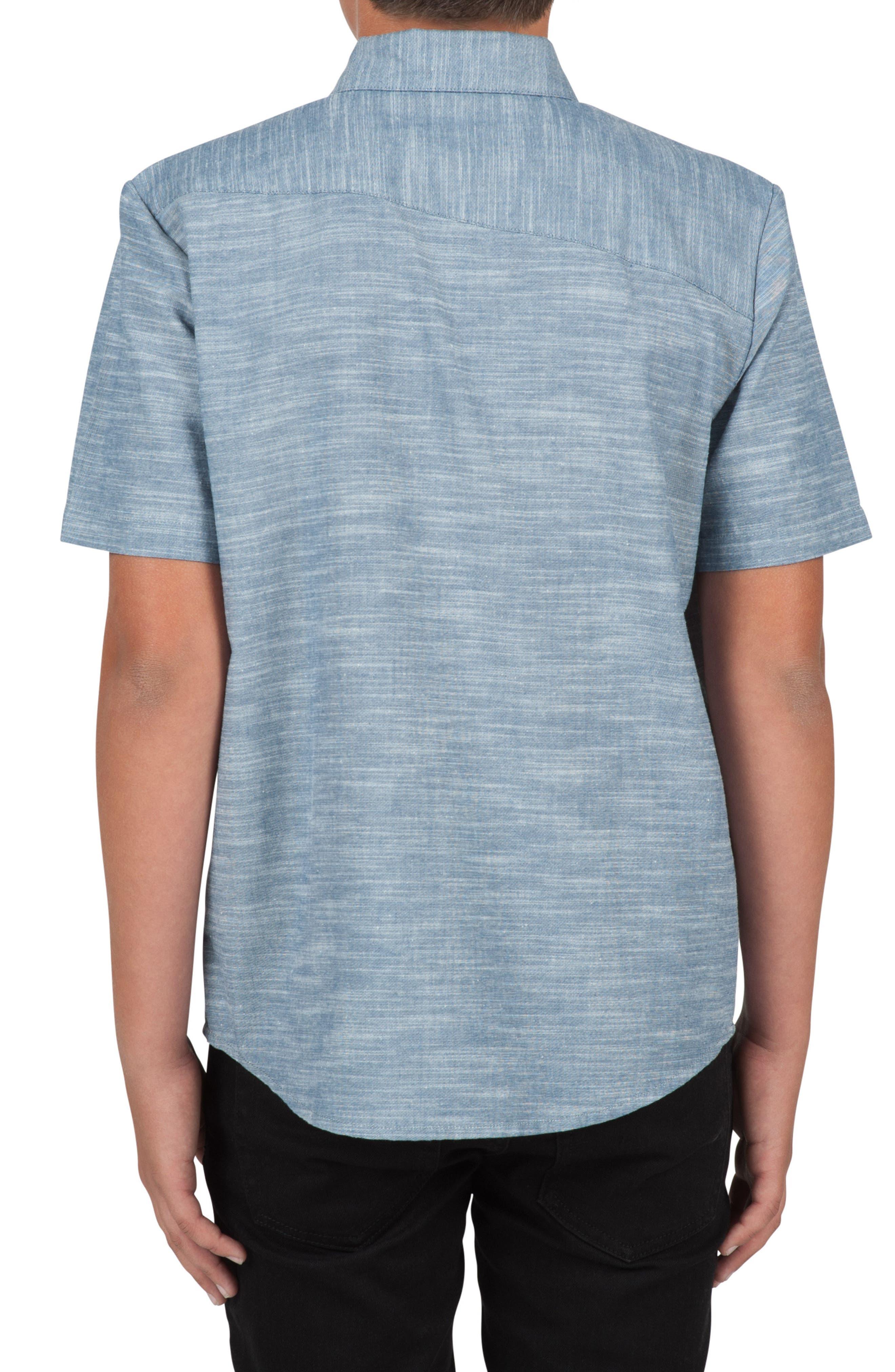 Everett Oxford Shirt,                             Alternate thumbnail 2, color,                             400