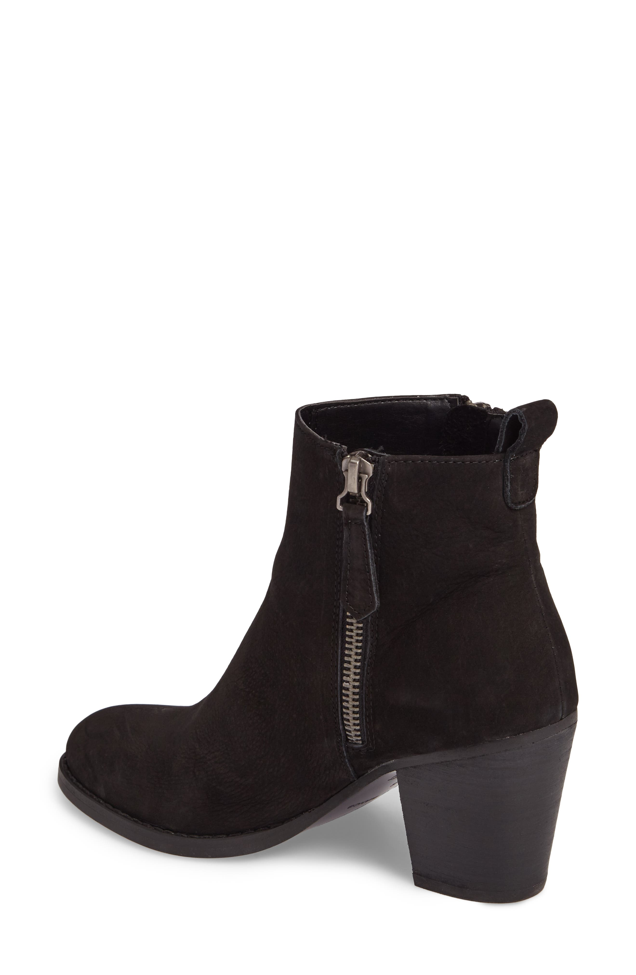Lance Stacked Heel Bootie,                             Alternate thumbnail 2, color,                             001