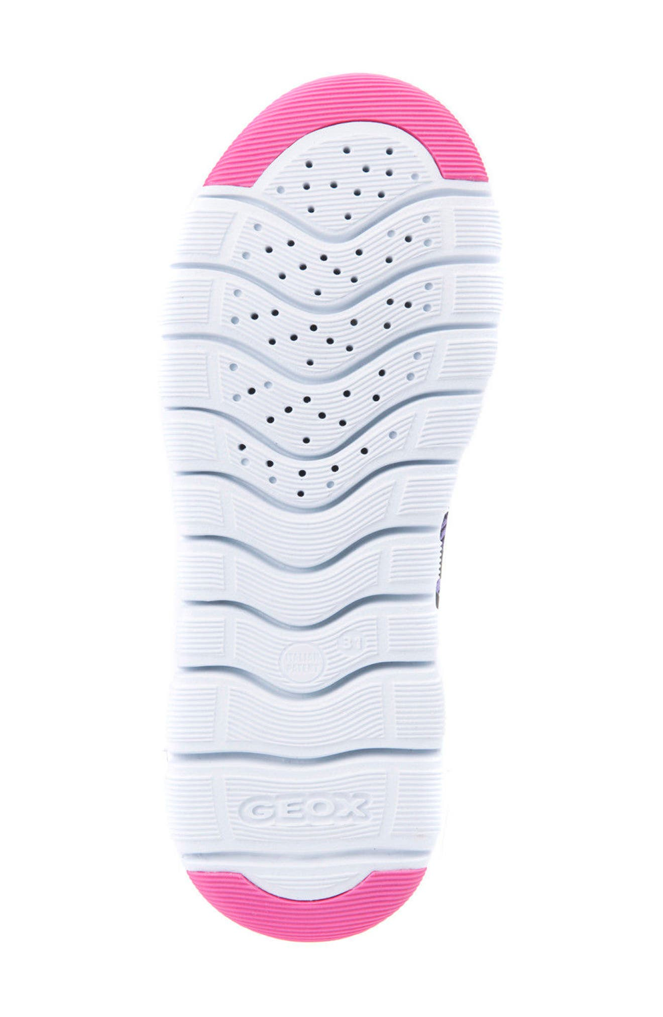 GEOX,                             Xunday Performance Knit Low Top Sneaker,                             Alternate thumbnail 6, color,                             574