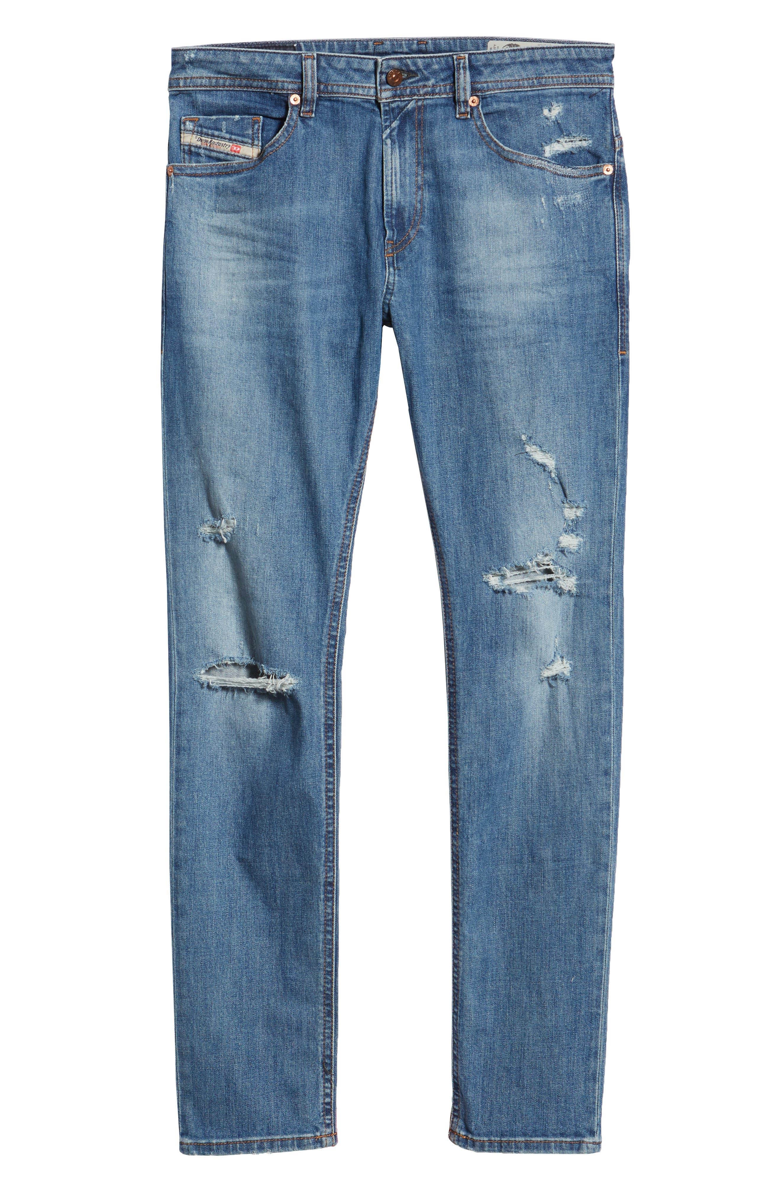 Thommer Skinny Fit Jeans,                             Alternate thumbnail 6, color,                             CN011