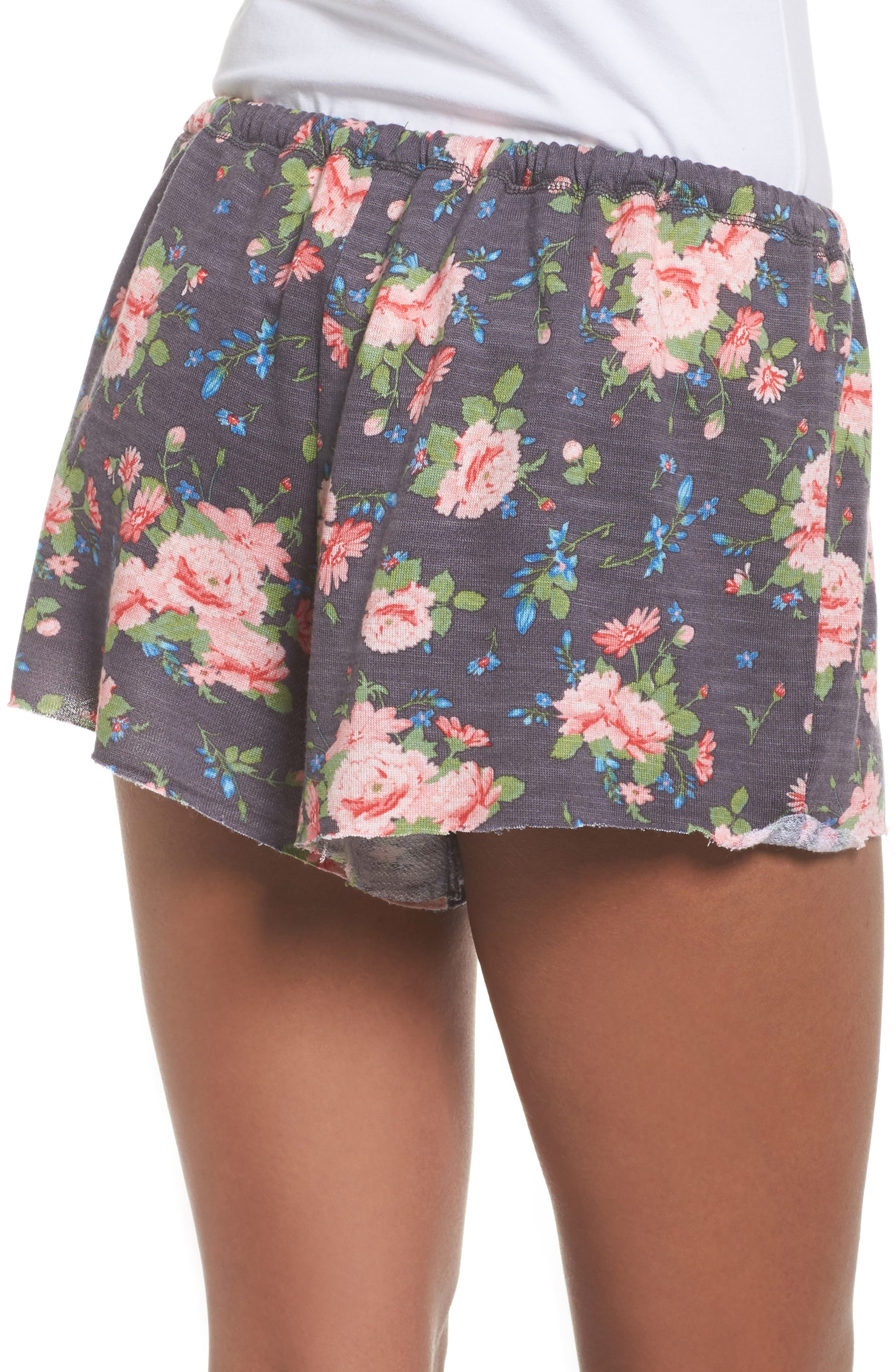 French Terry Lounge Shorts,                             Alternate thumbnail 4, color,