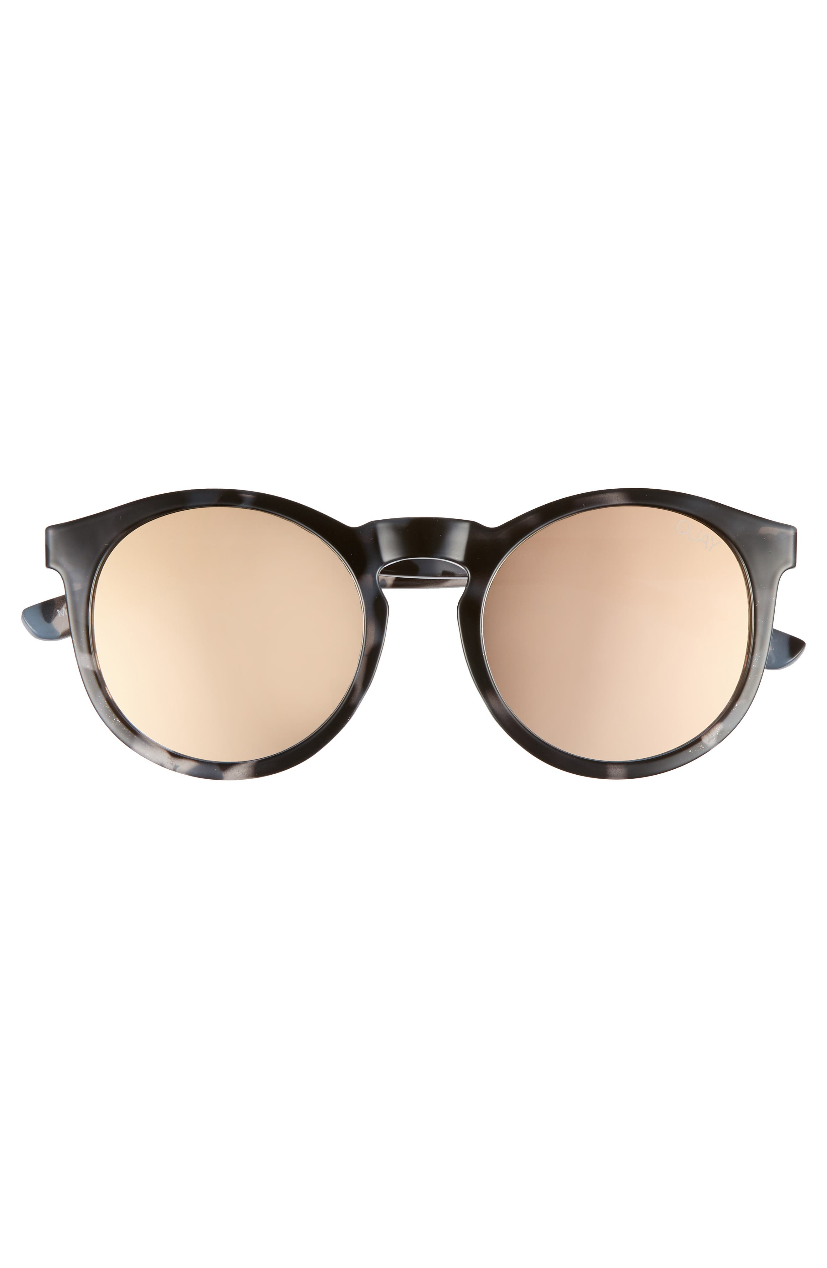 Kosha 49mm Round Sunglasses,                             Alternate thumbnail 6, color,