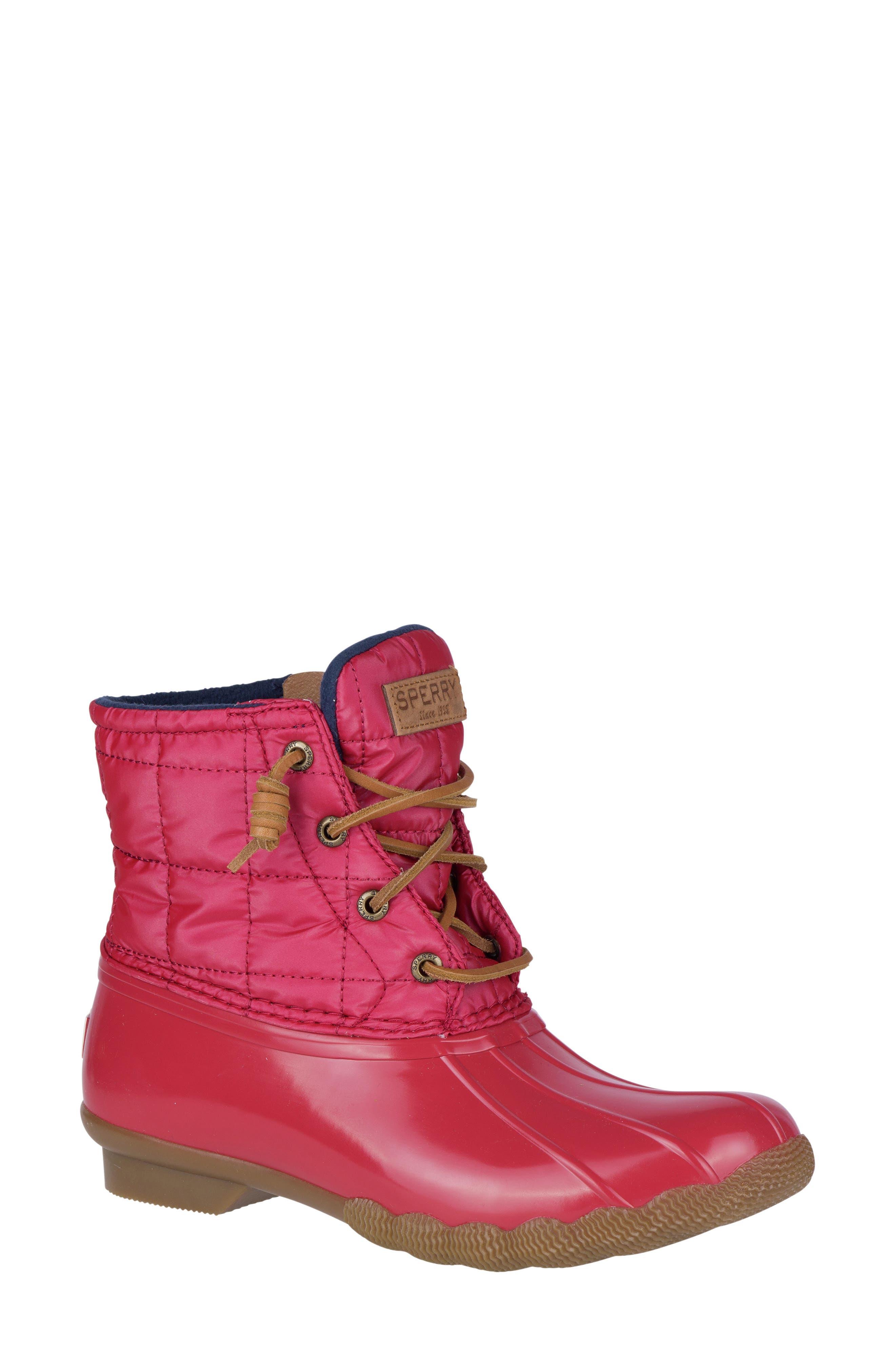 'Saltwater' Waterproof Rain Boot,                             Main thumbnail 16, color,