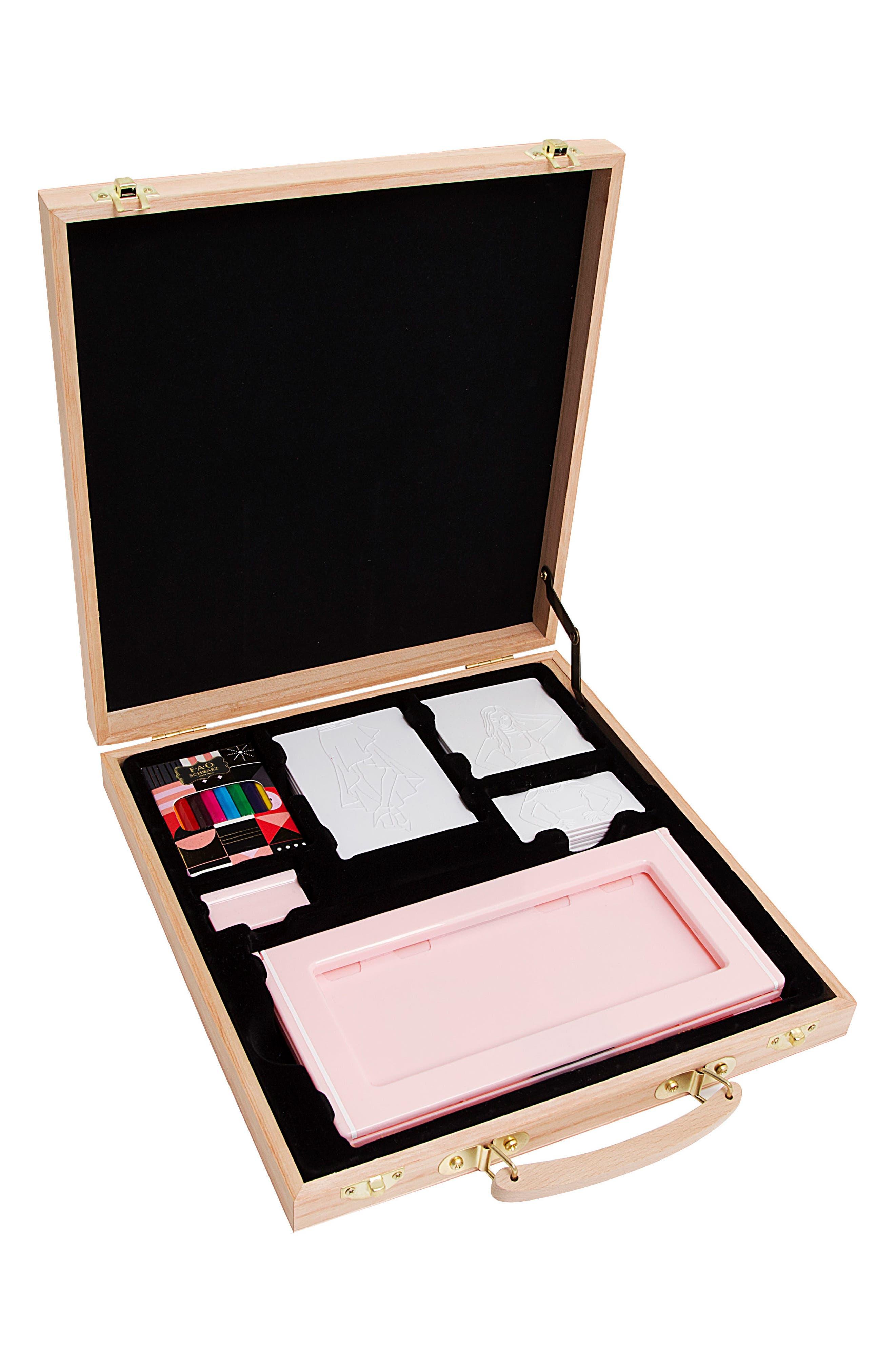 Fashion Designer Activity Plate Set, Main, color, 650