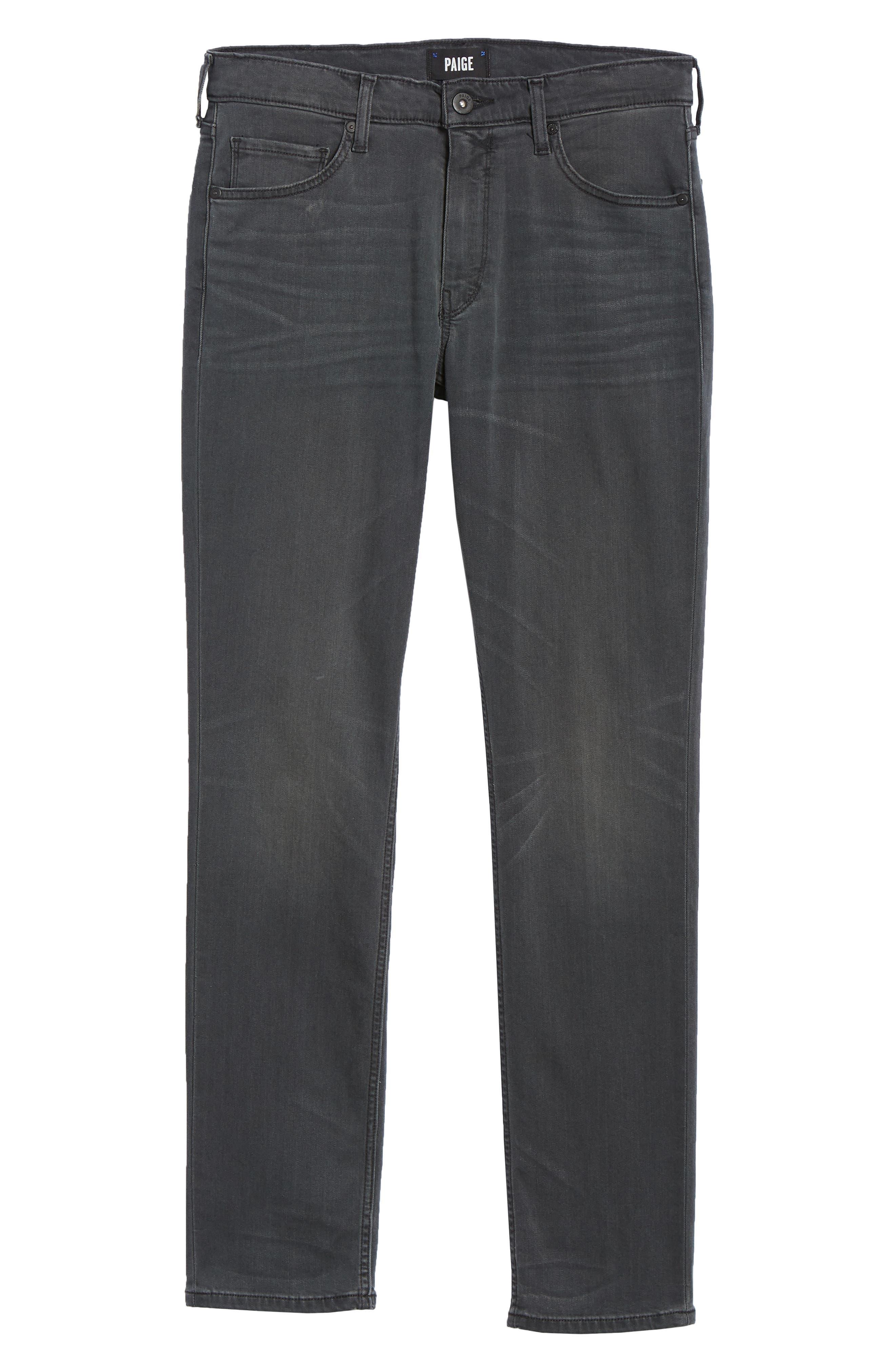 Transcend - Lennox Slim Fit Jeans,                             Alternate thumbnail 6, color,                             SHELDON