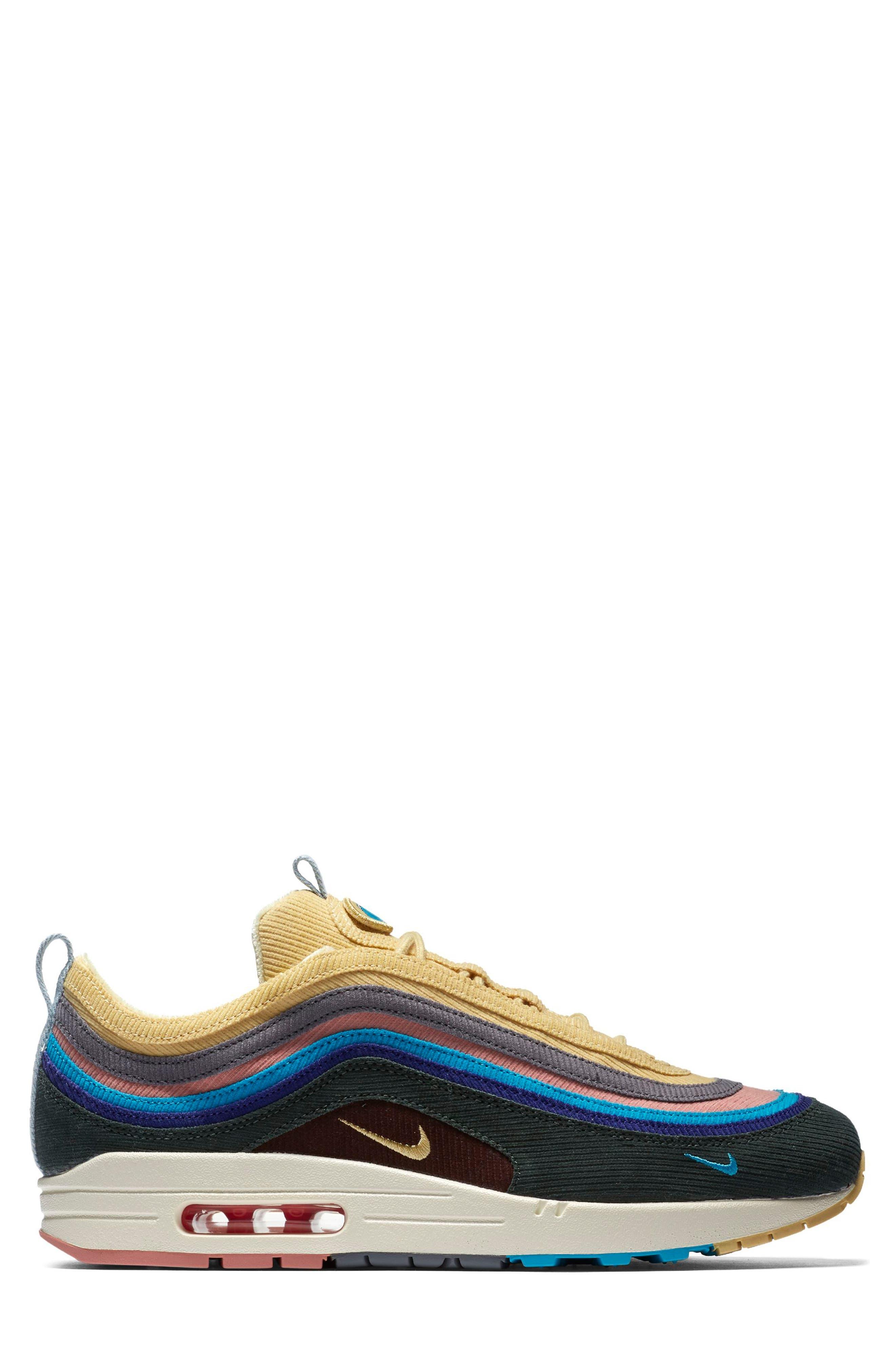 NIKE,                             Air Max 1/97 VF SW Sneaker,                             Alternate thumbnail 3, color,                             400
