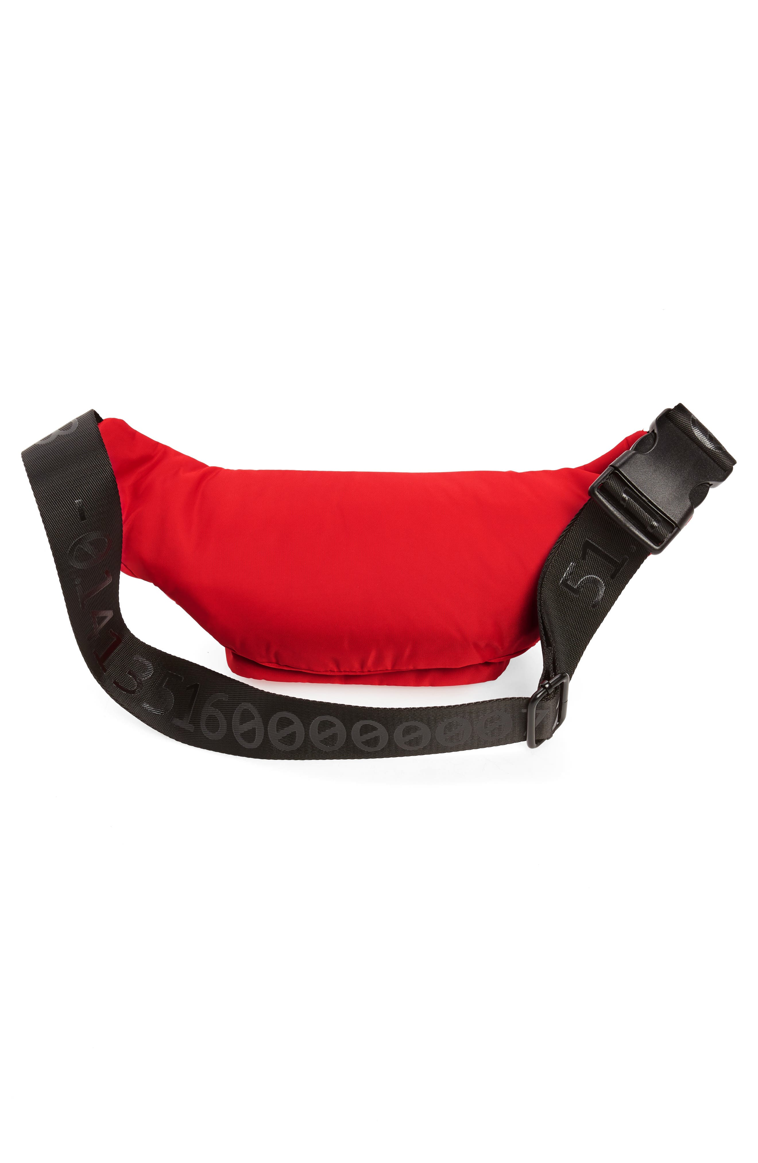 Tokyo Belt Bag,                             Alternate thumbnail 4, color,                             RED