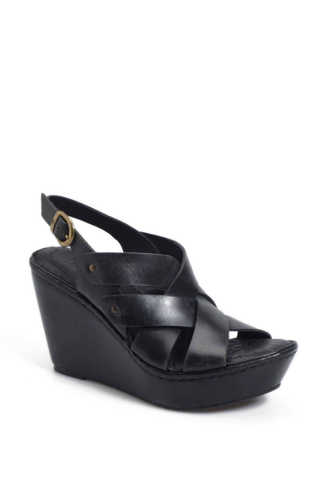 'Cataleen' Sandal,                         Main,                         color, 001