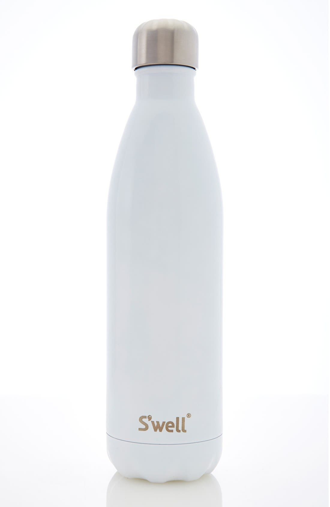 'Angel Food' Insulated Stainless Steel Water Bottle,                             Alternate thumbnail 6, color,                             100