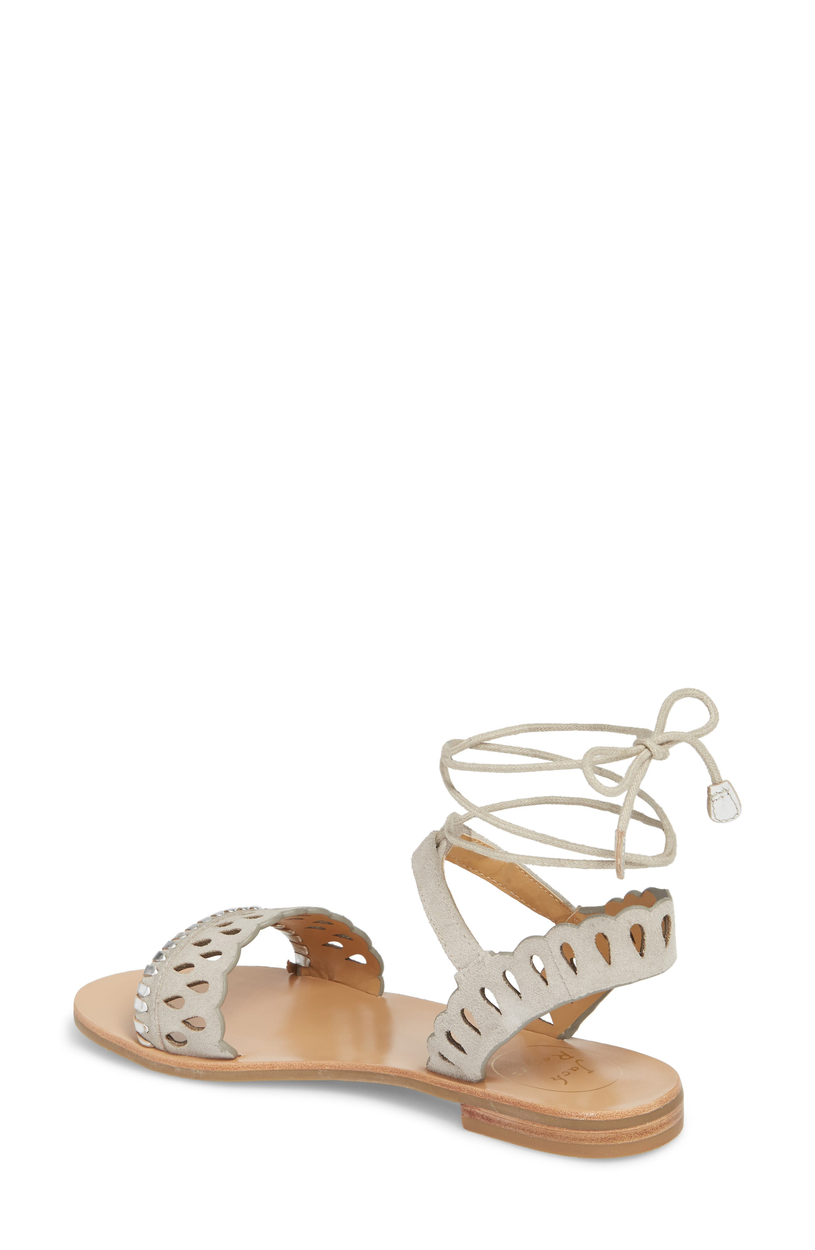 Ruby Perforated Sandal,                             Alternate thumbnail 2, color,                             027