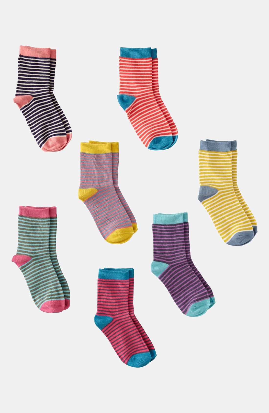 MINI BODEN,                             Socks,                             Main thumbnail 1, color,                             982