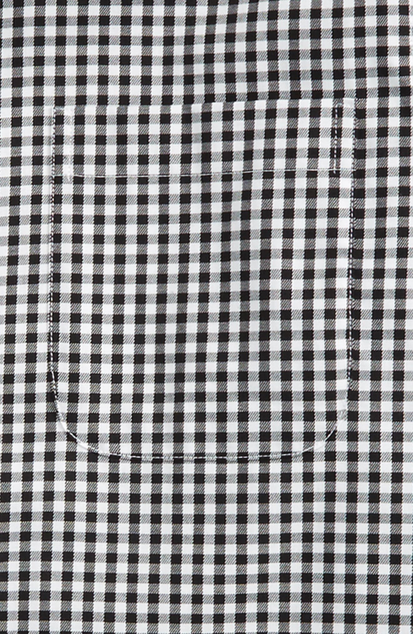 Non-Iron Check Dress Shirt,                             Alternate thumbnail 3, color,