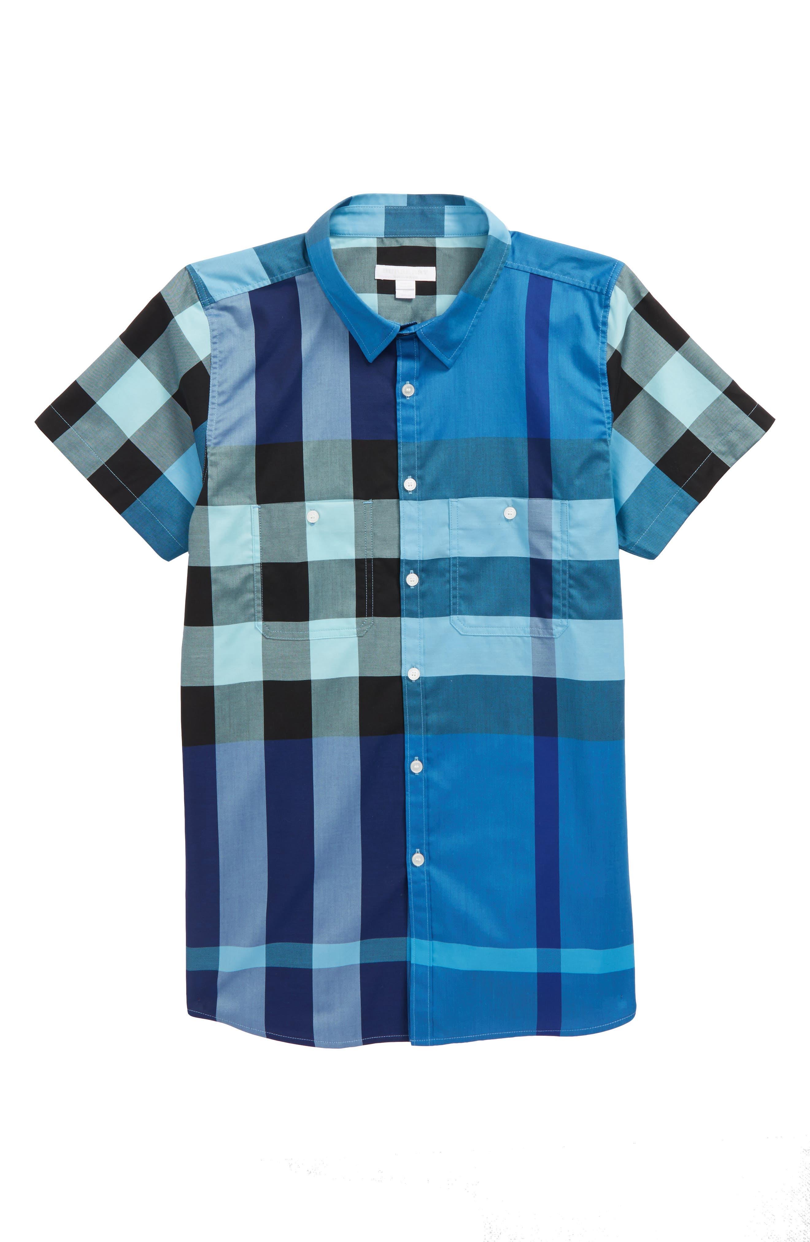 Camber Check Shirt,                             Main thumbnail 2, color,
