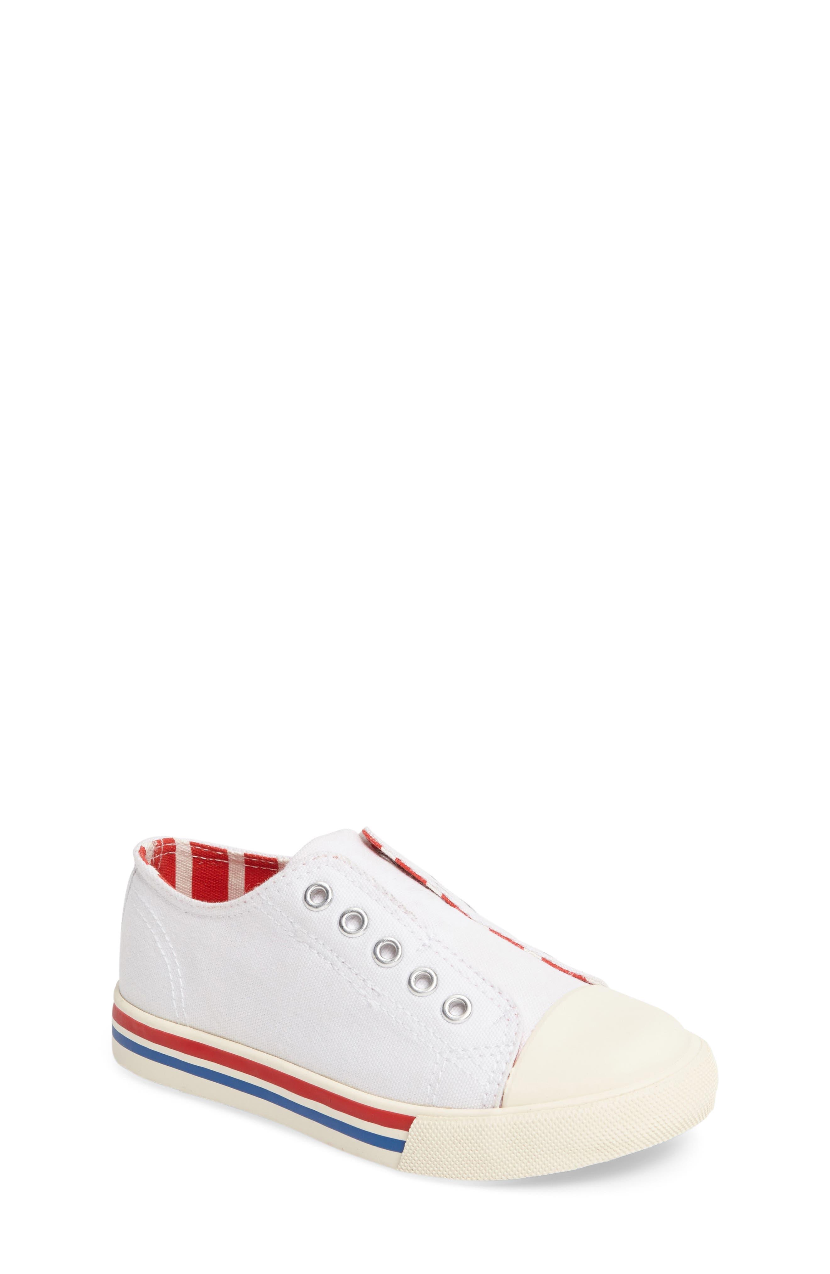Laceless Sneaker,                         Main,                         color, 100