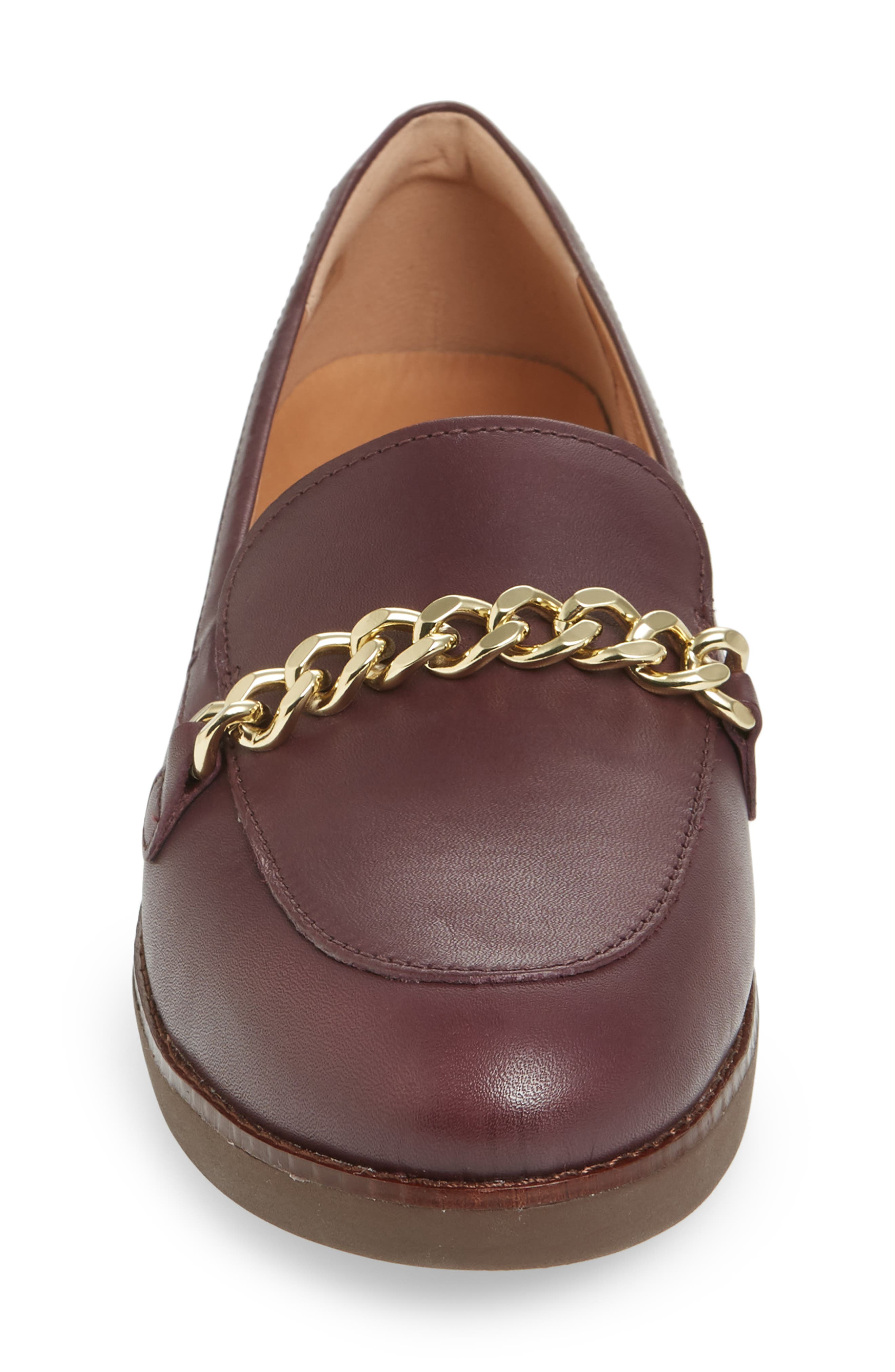 FITFLOP,                             Petrina Chain Loafer,                             Alternate thumbnail 4, color,                             547