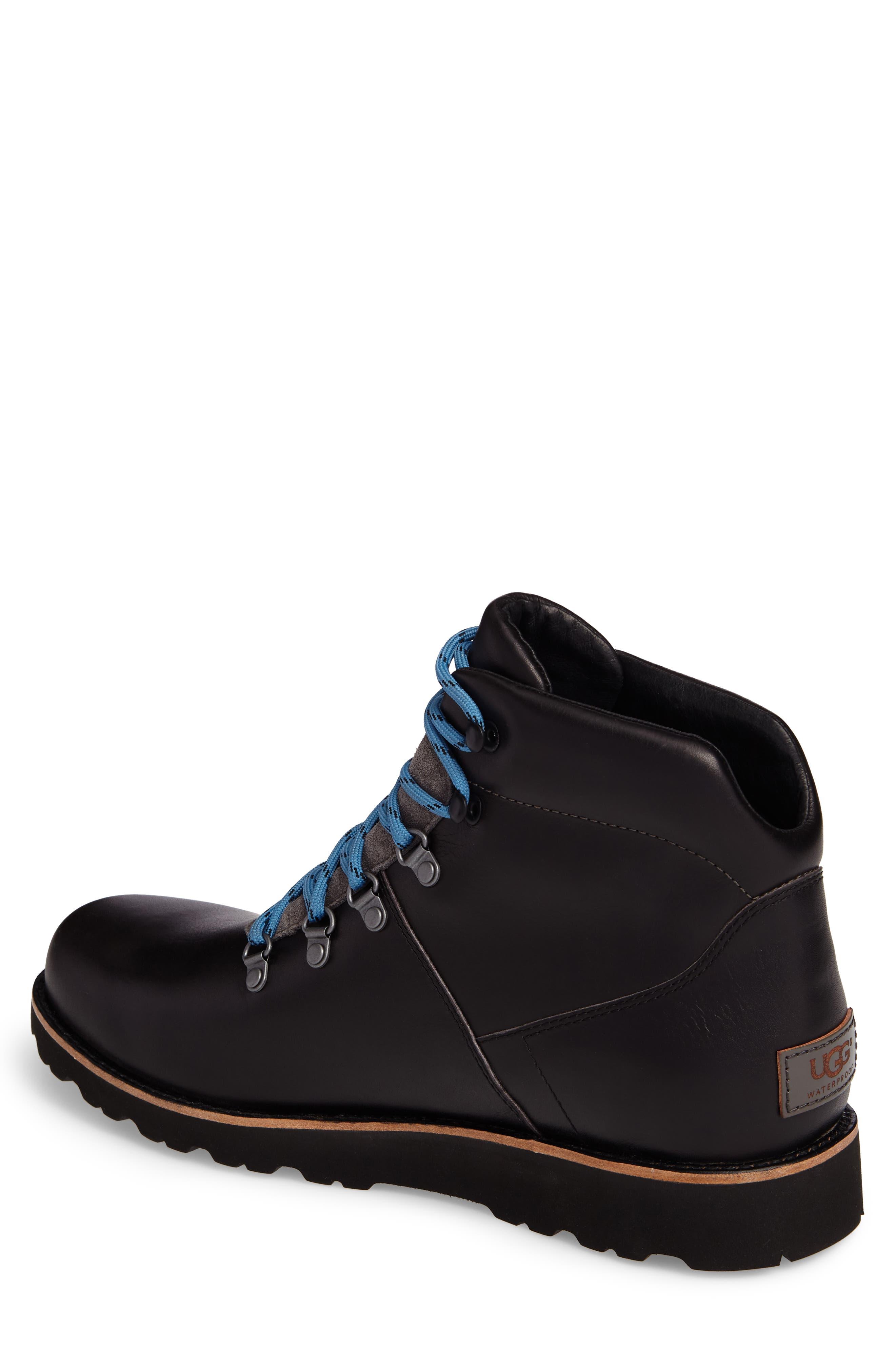 Halfstein Plain Toe Waterproof Boot,                             Alternate thumbnail 2, color,                             CHARCOAL