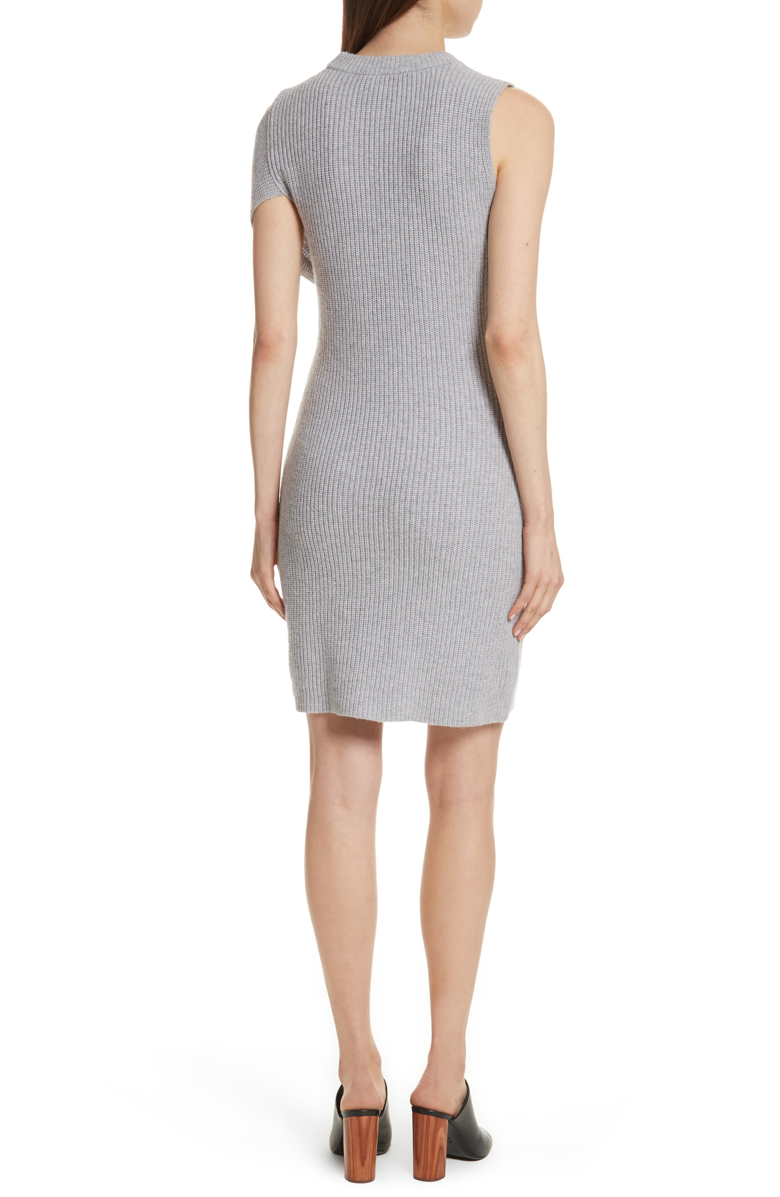Twist Knit Dress,                             Alternate thumbnail 2, color,                             051