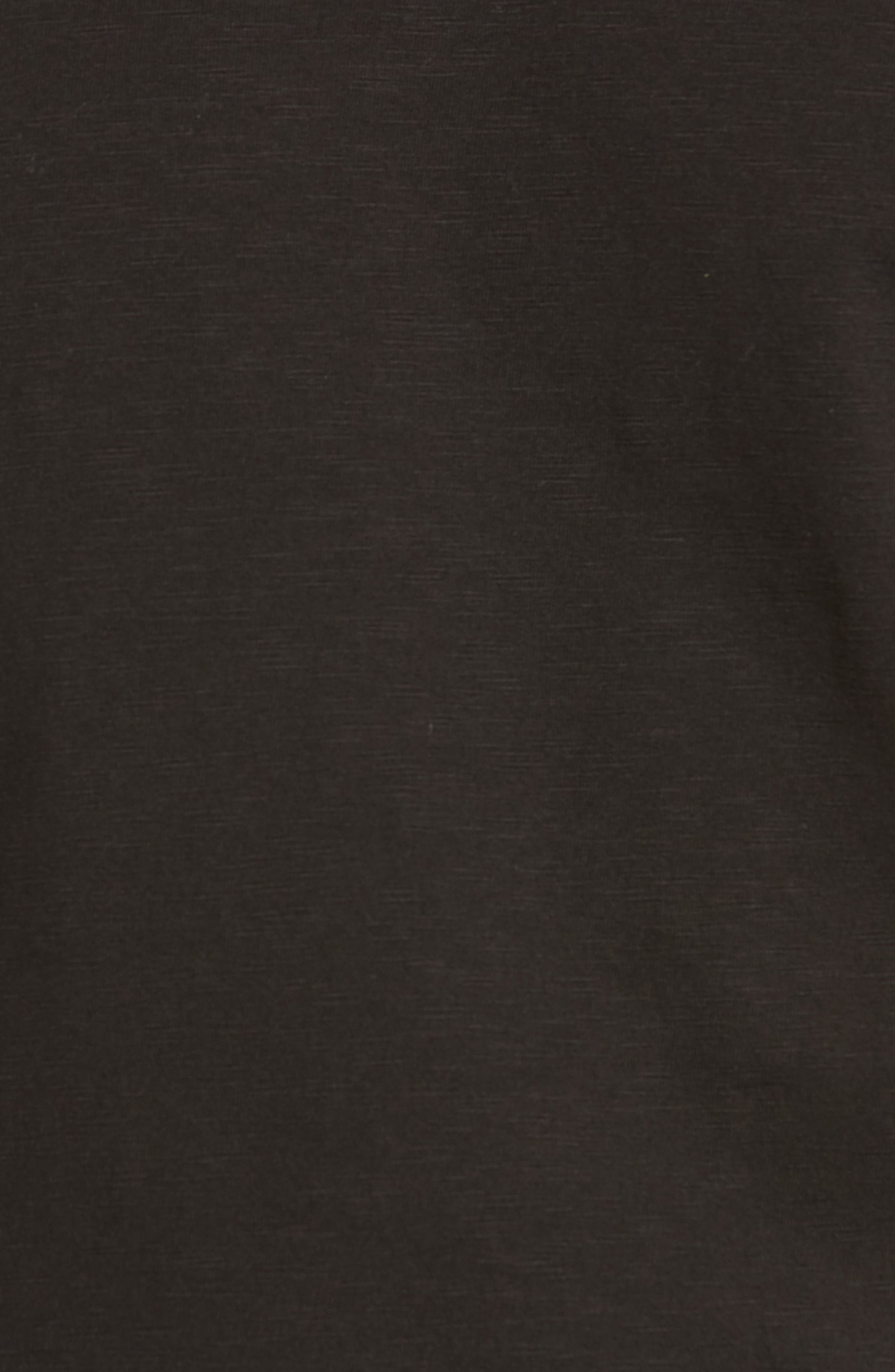 Virgil Stretch Jersey T-Shirt,                             Alternate thumbnail 5, color,                             001