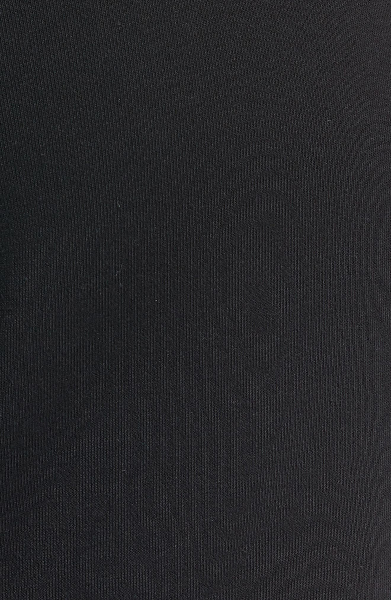 Sportswear Air Force 1 Jogger Pants,                             Alternate thumbnail 5, color,                             BLACK/ ANTHRACITE
