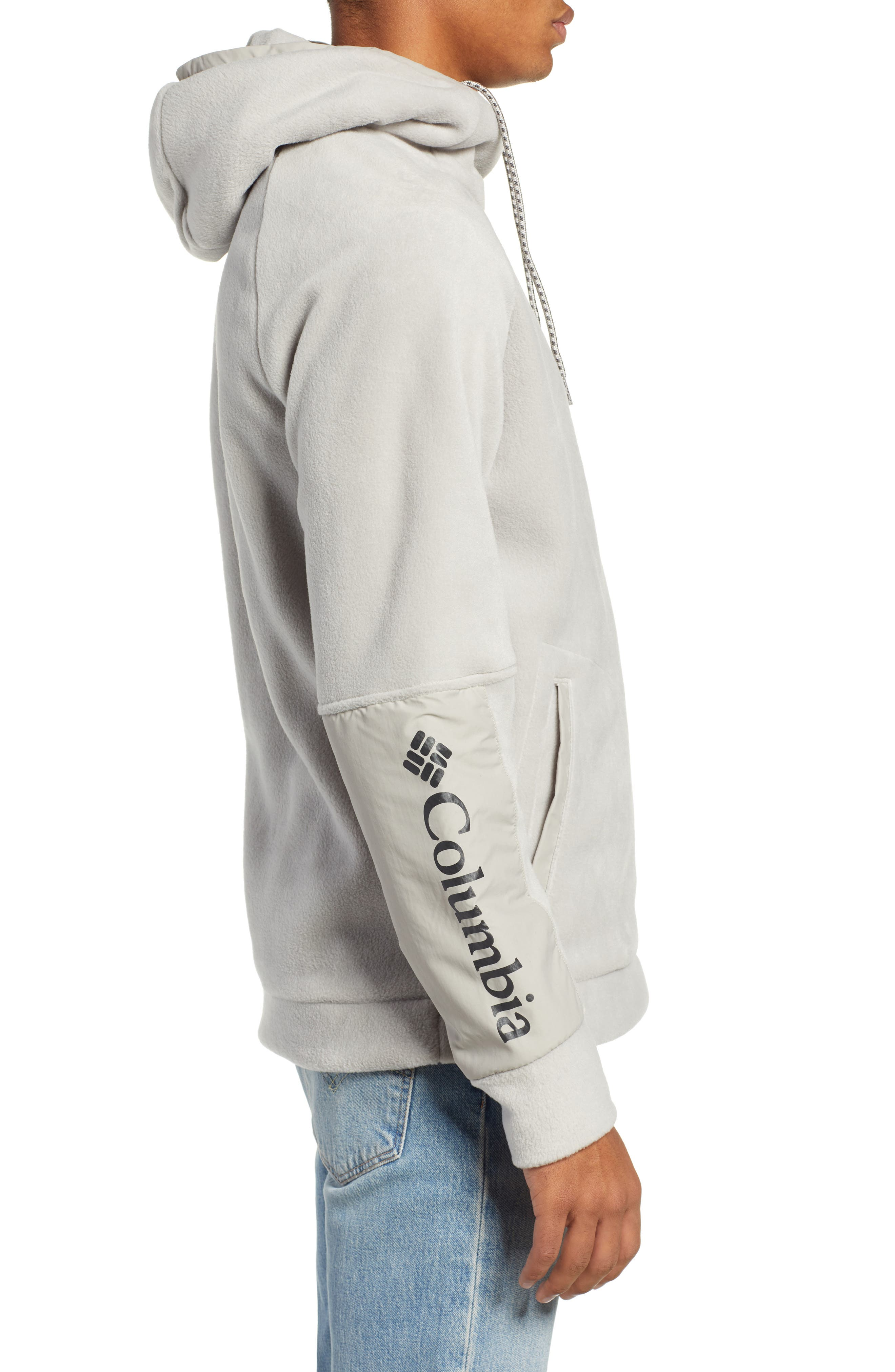 CSC Fleece Hoodie,                             Alternate thumbnail 3, color,                             027
