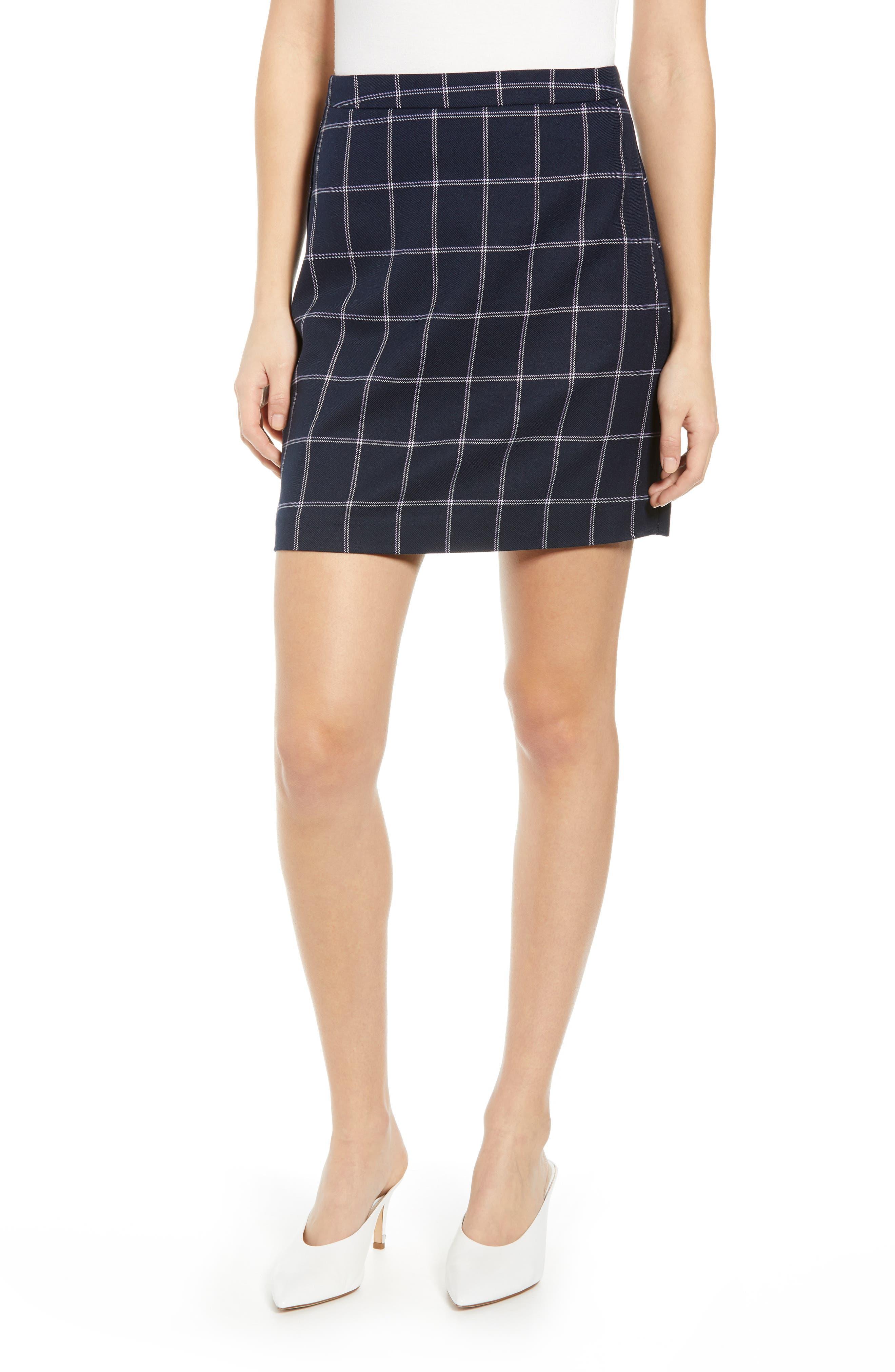 Vero Moda Bell Miniskirt, Blue