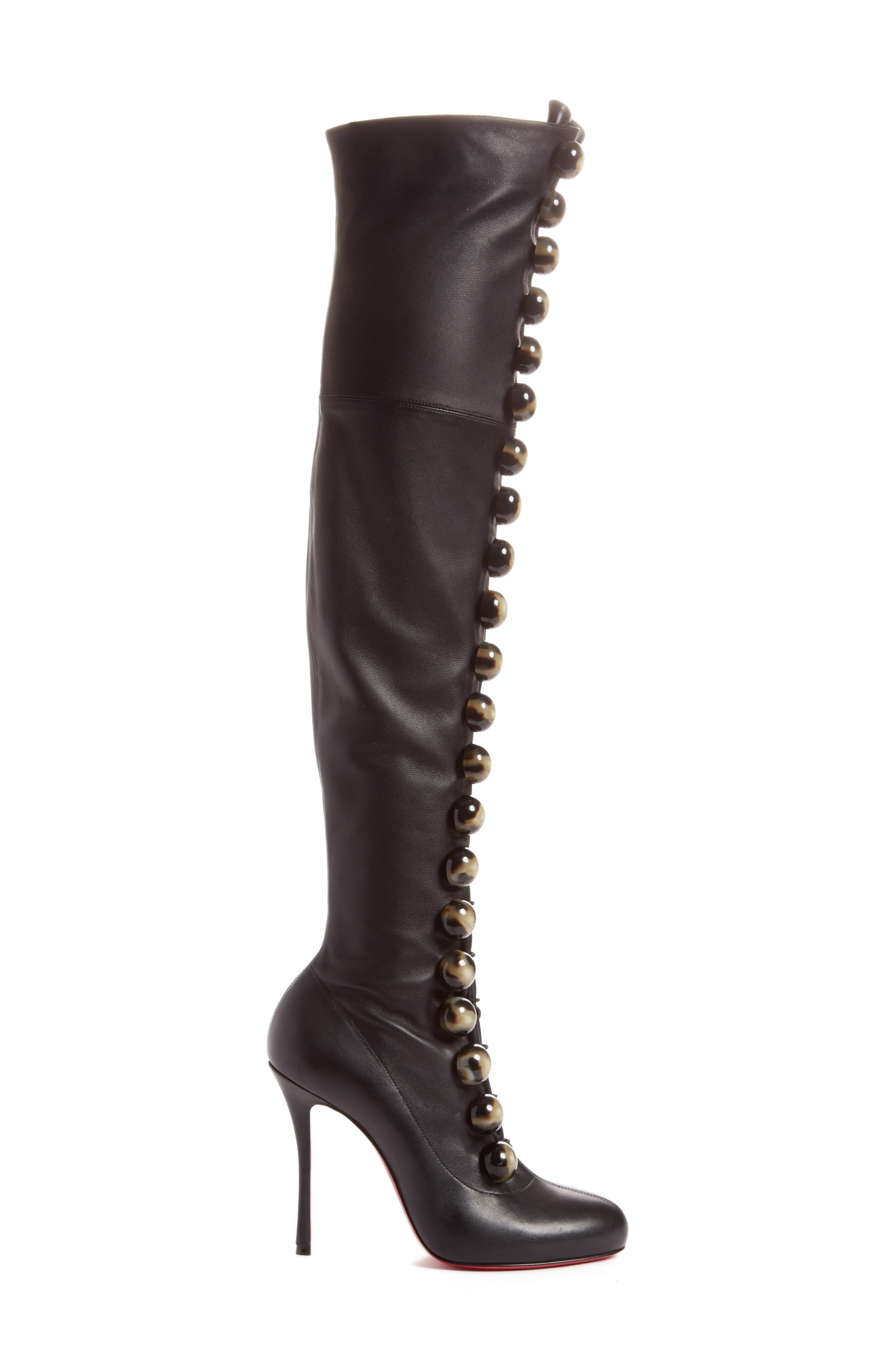 Fabiola Over the Knee Boot,                             Alternate thumbnail 3, color,                             001