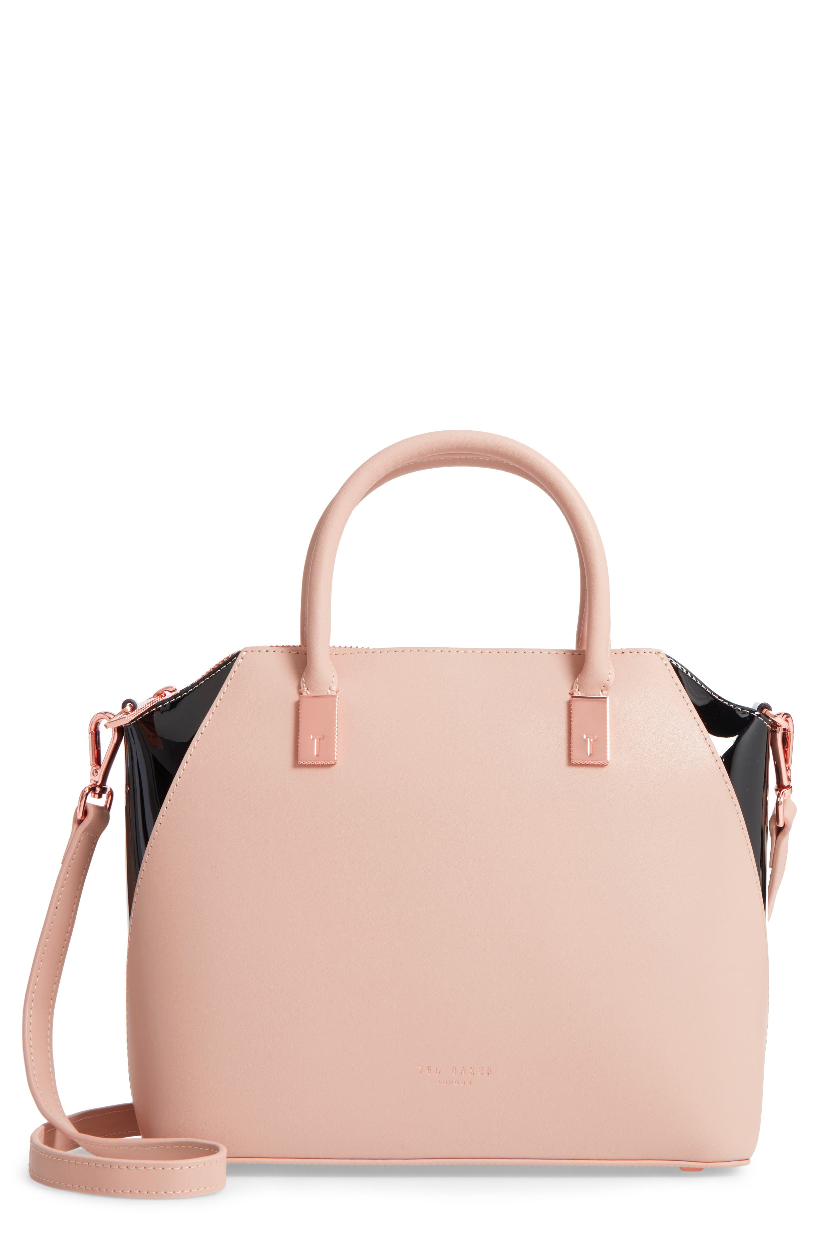 Small Ashlee Leather Tote Bag,                             Main thumbnail 1, color,                             271