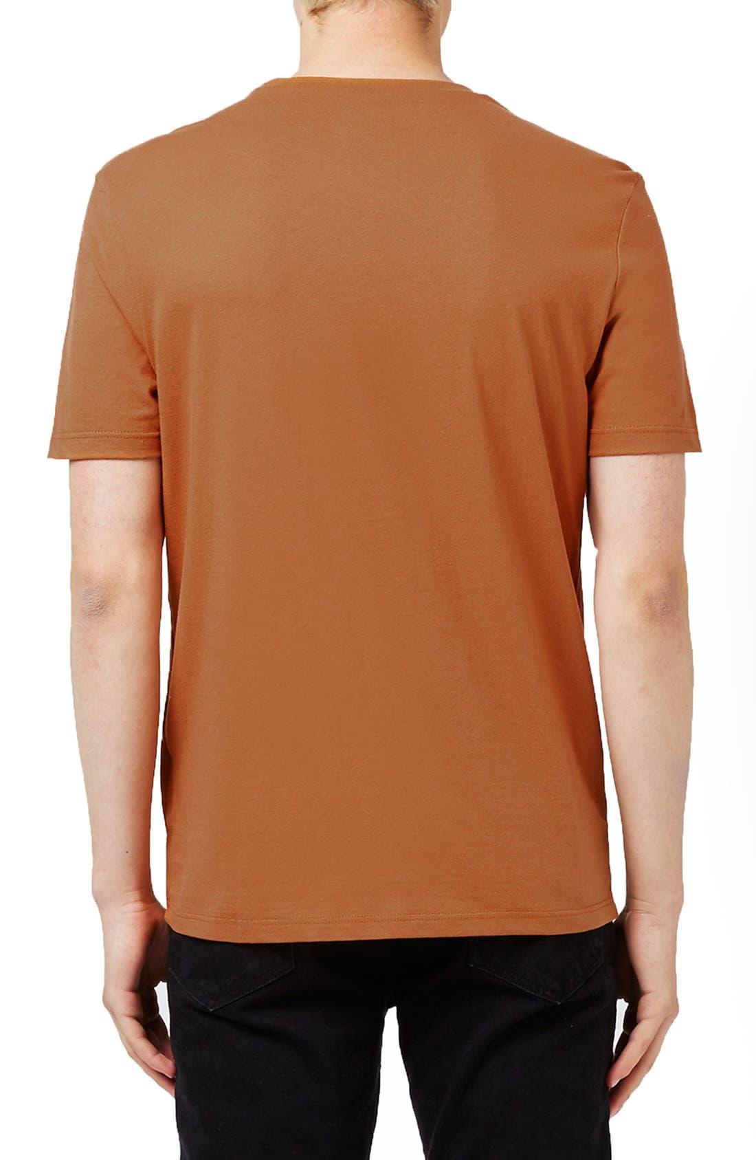 Slim Fit Crewneck T-Shirt,                             Alternate thumbnail 397, color,