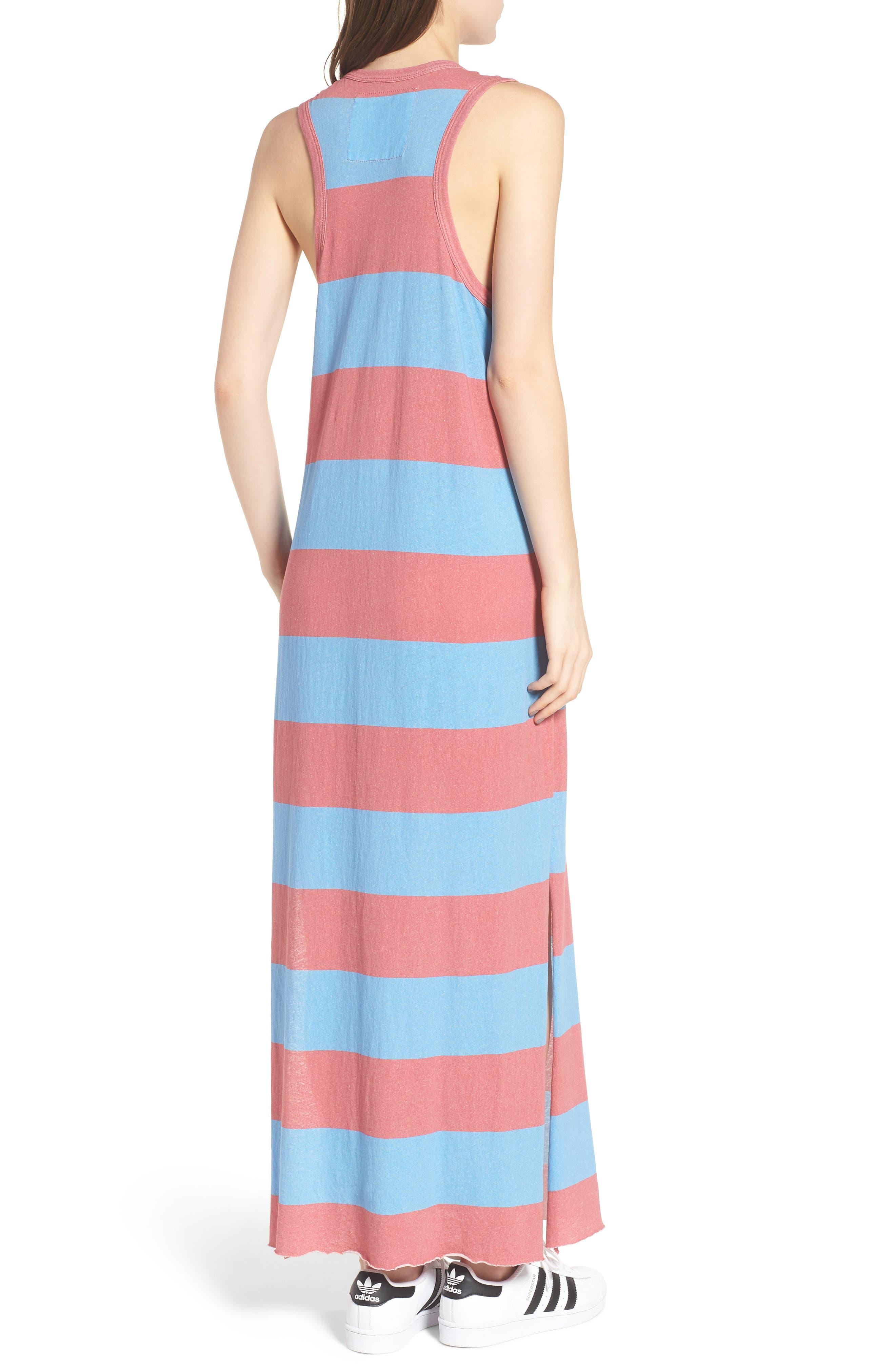 Stripe Muscle Maxi Dress,                             Alternate thumbnail 2, color,