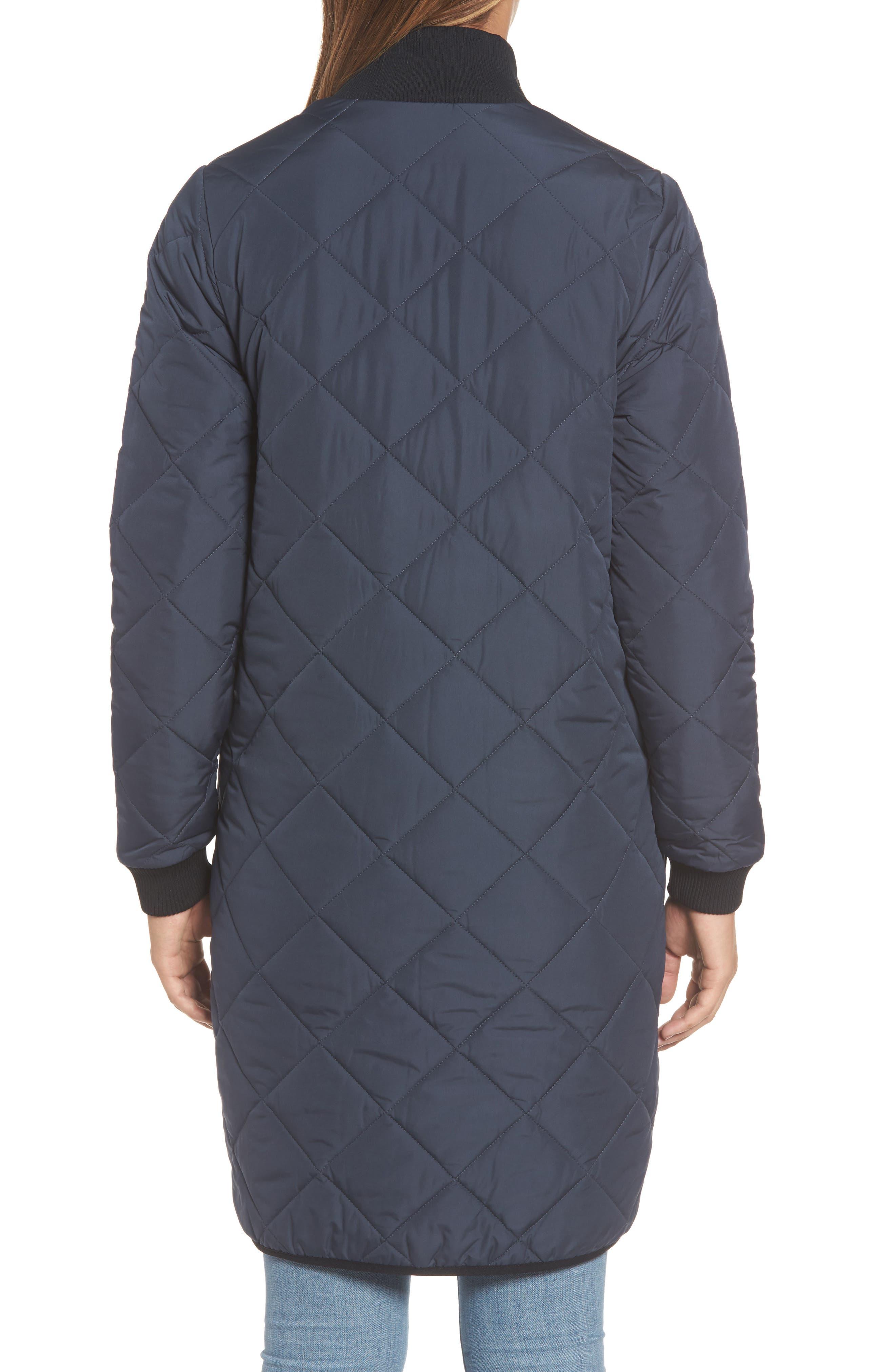 IIse Jacobsen Hornbaek Quilted Coat,                             Alternate thumbnail 2, color,                             401