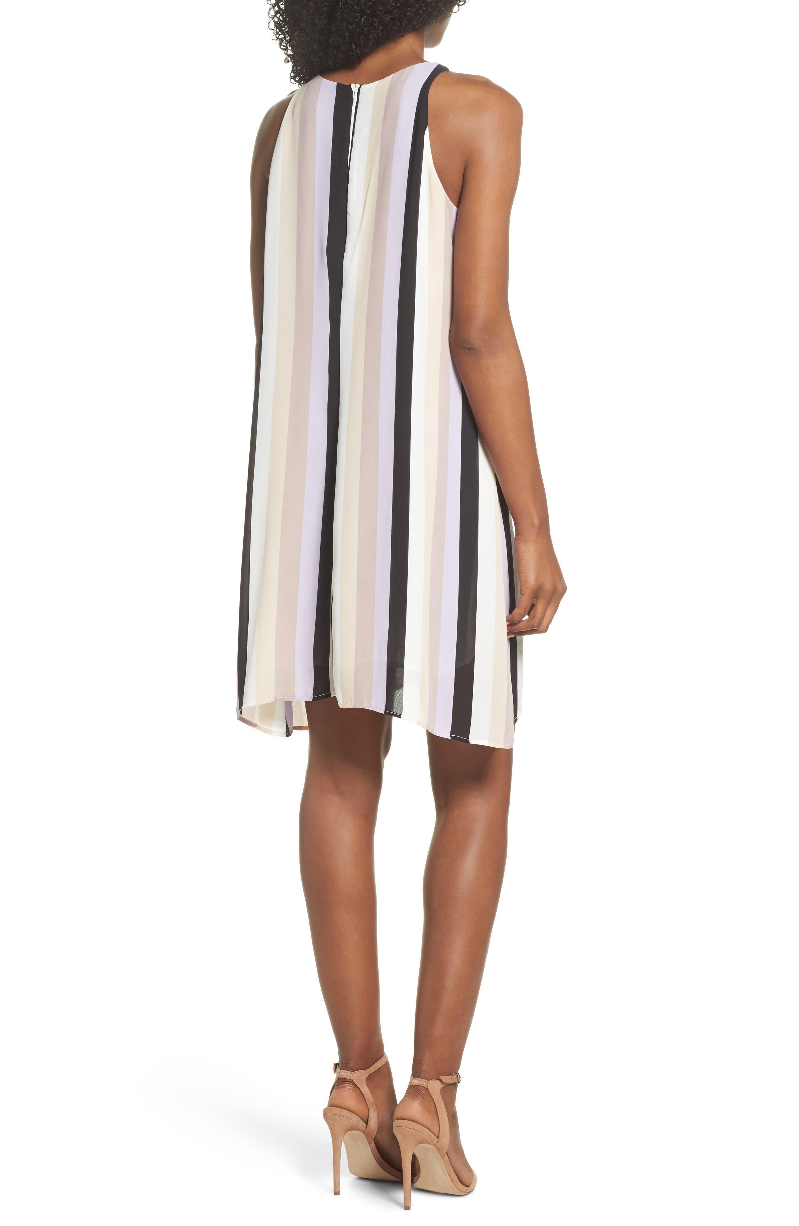 Stripe A-Line Dress,                             Alternate thumbnail 2, color,                             571