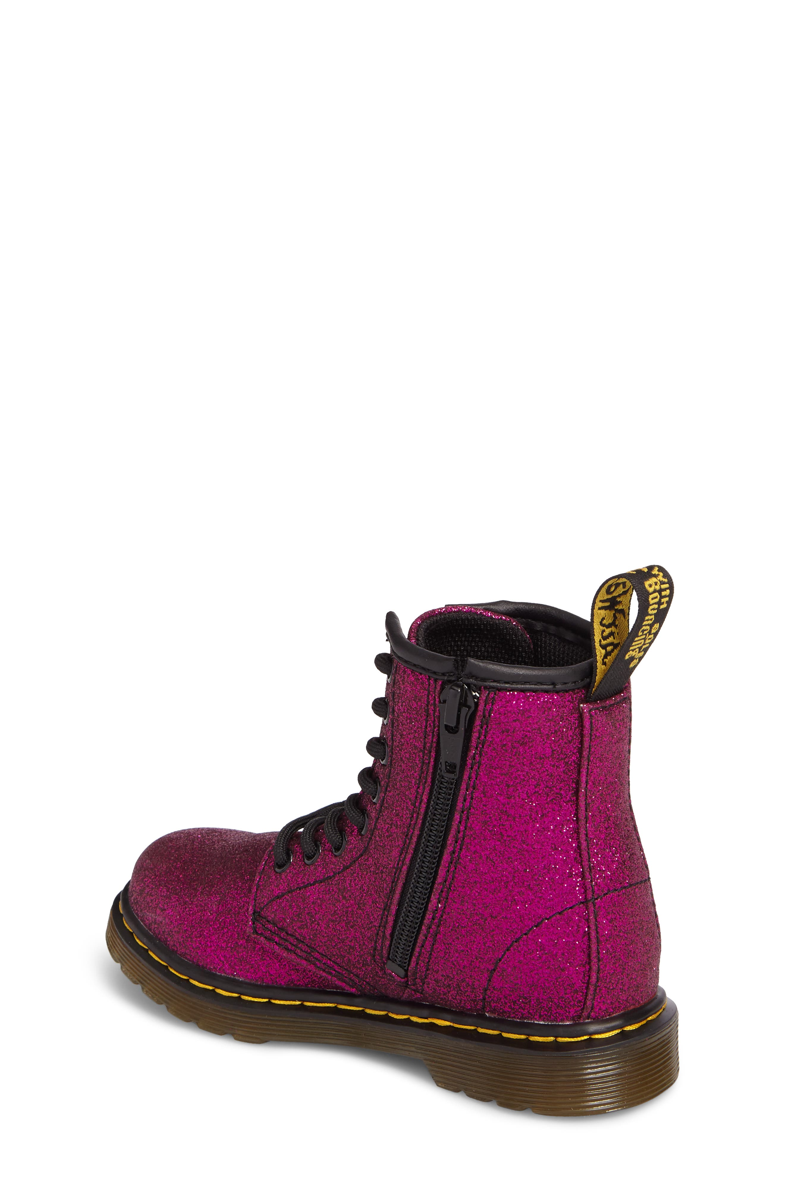 Delaney Glitter Boot,                             Alternate thumbnail 6, color,