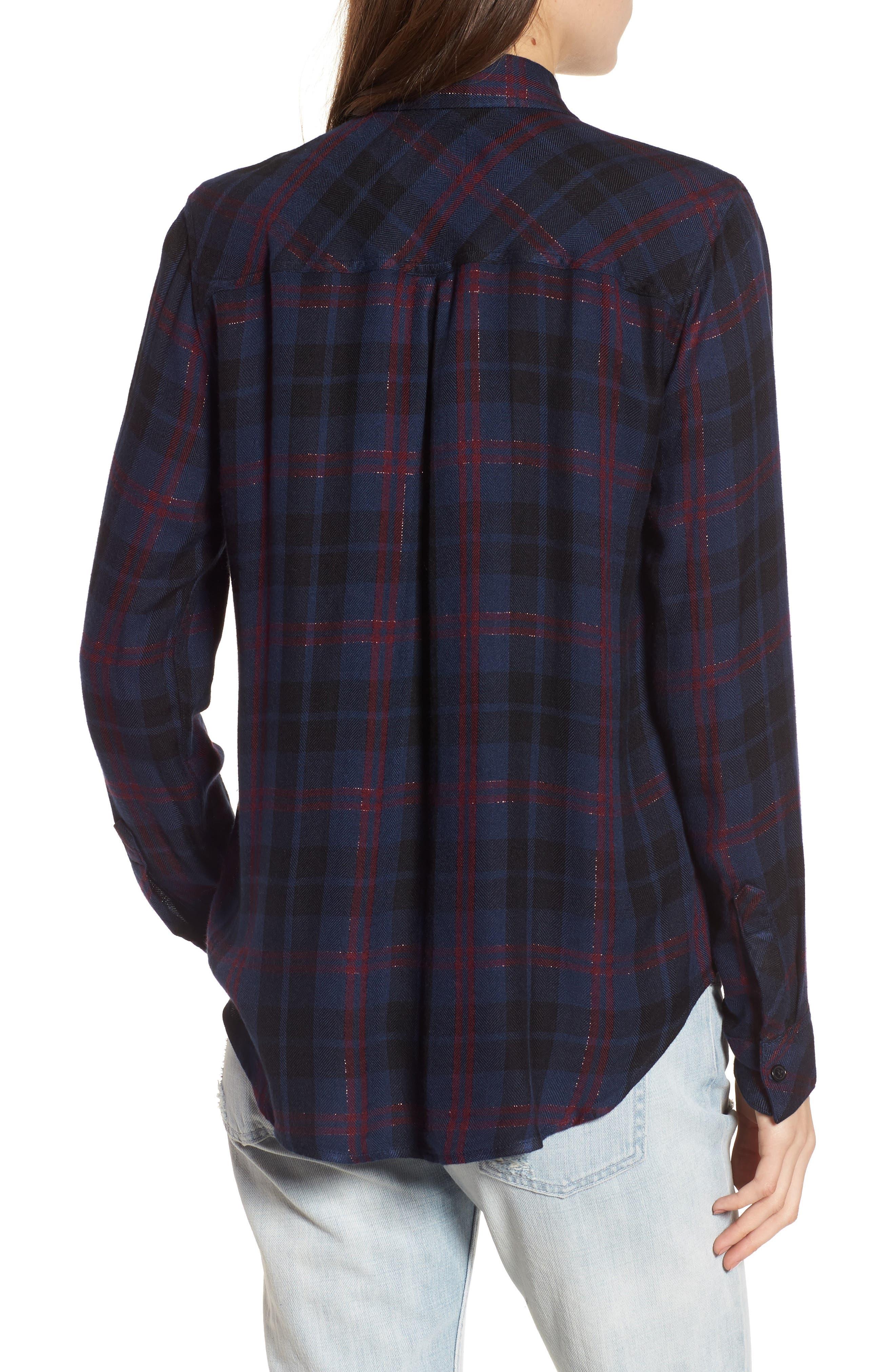 Hunter Plaid Shirt,                             Alternate thumbnail 214, color,