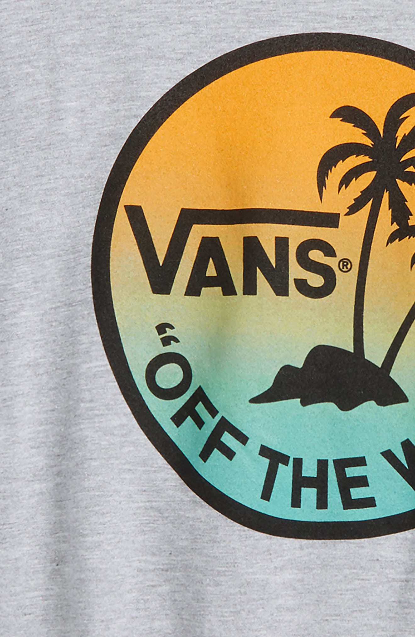 Dual Palm Island Graphic T-Shirt,                             Alternate thumbnail 6, color,