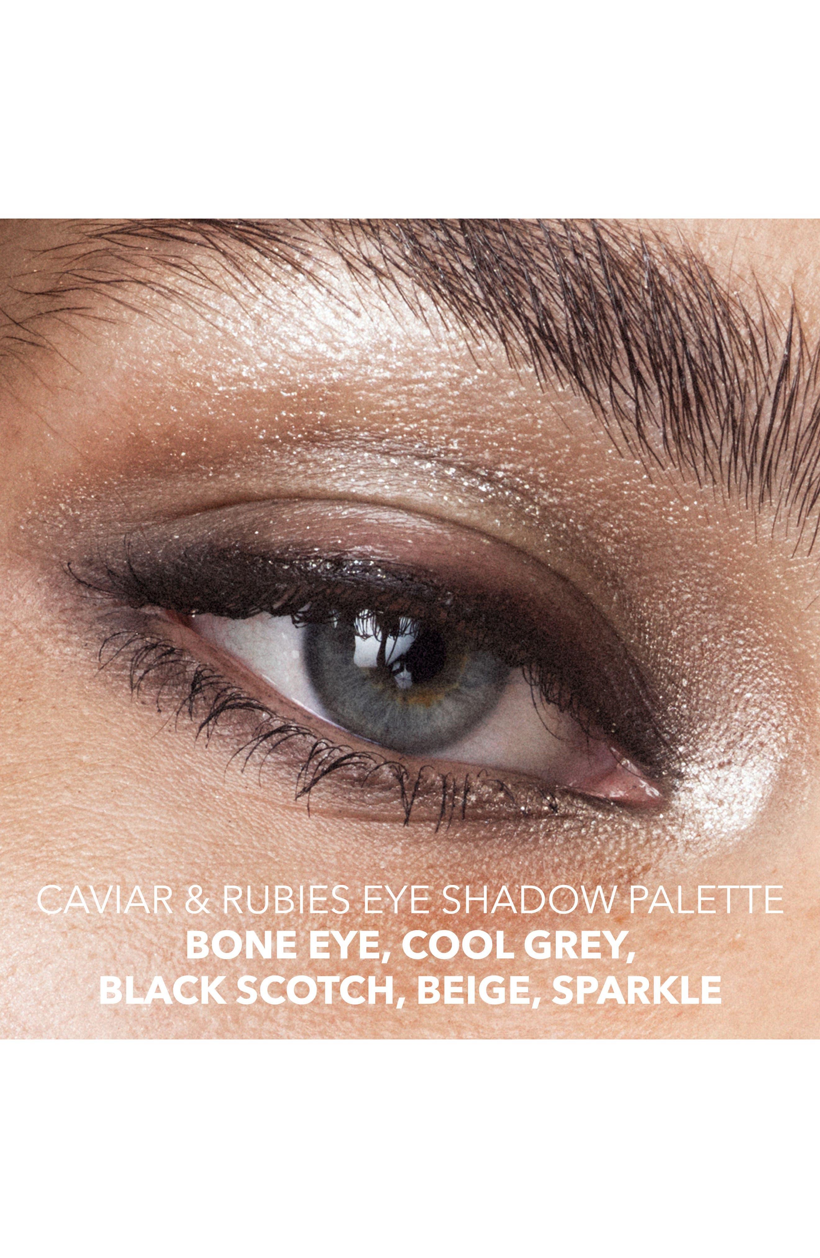 Caviar & Rubies Eyeshadow Palette,                             Alternate thumbnail 5, color,                             000