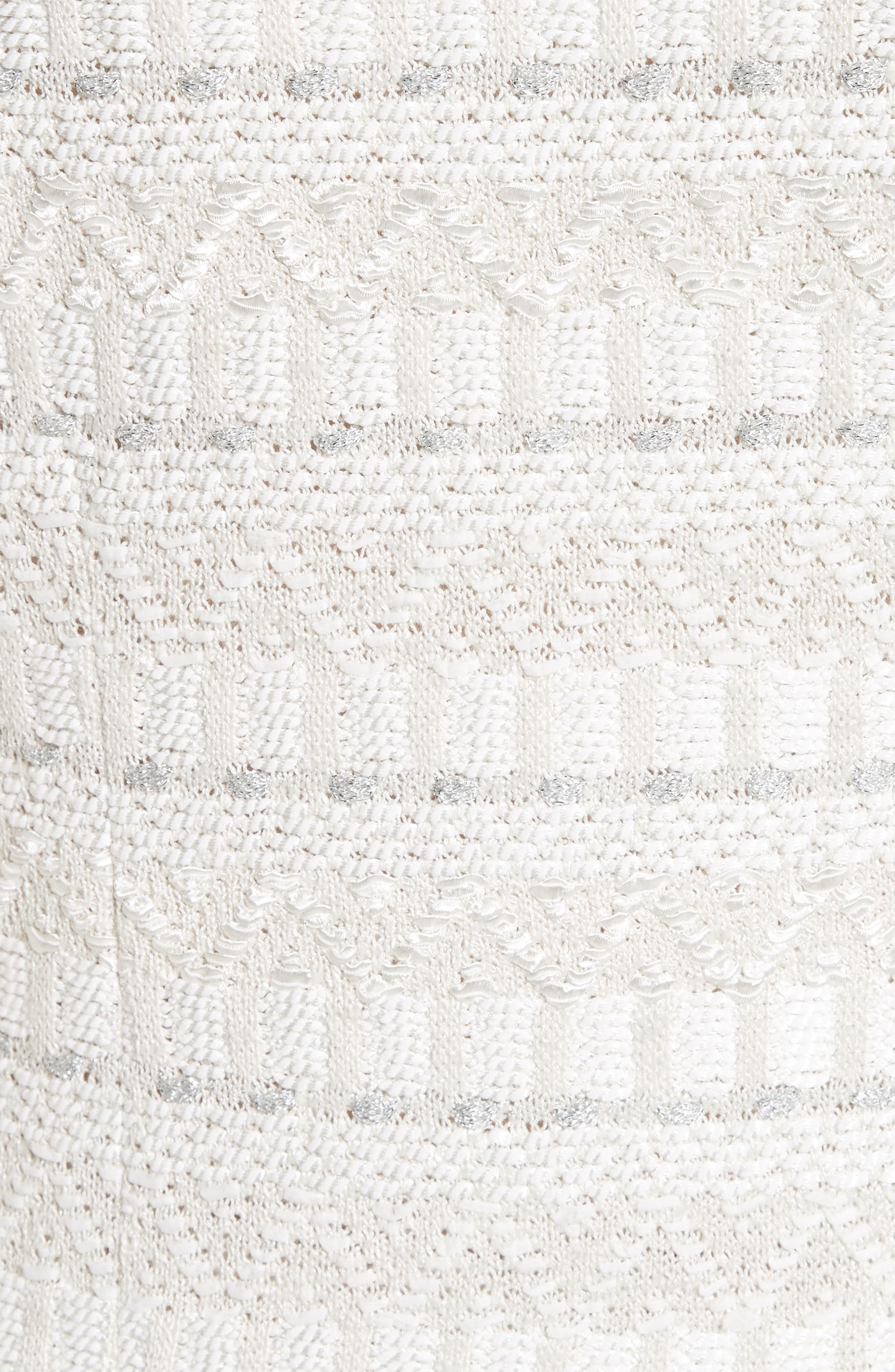 Samar Knit Tweed Jacket,                             Alternate thumbnail 6, color,                             100
