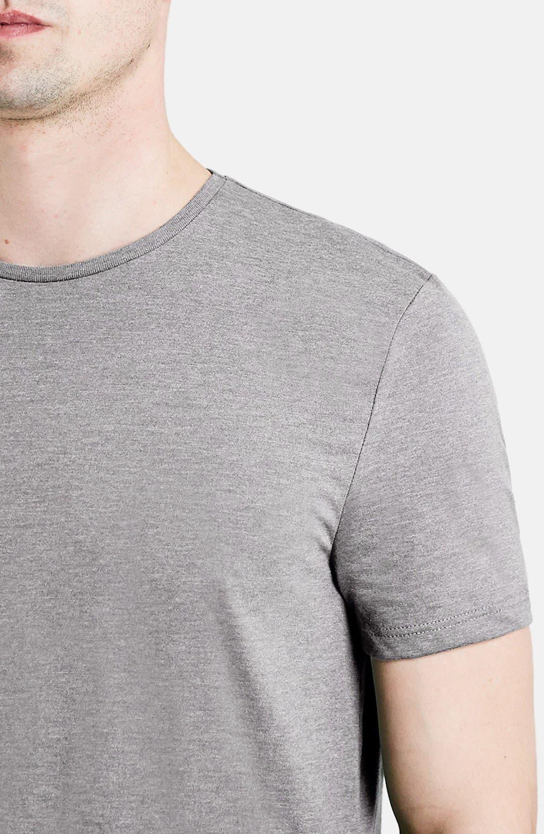 Slim Fit Crewneck T-Shirt,                             Alternate thumbnail 225, color,