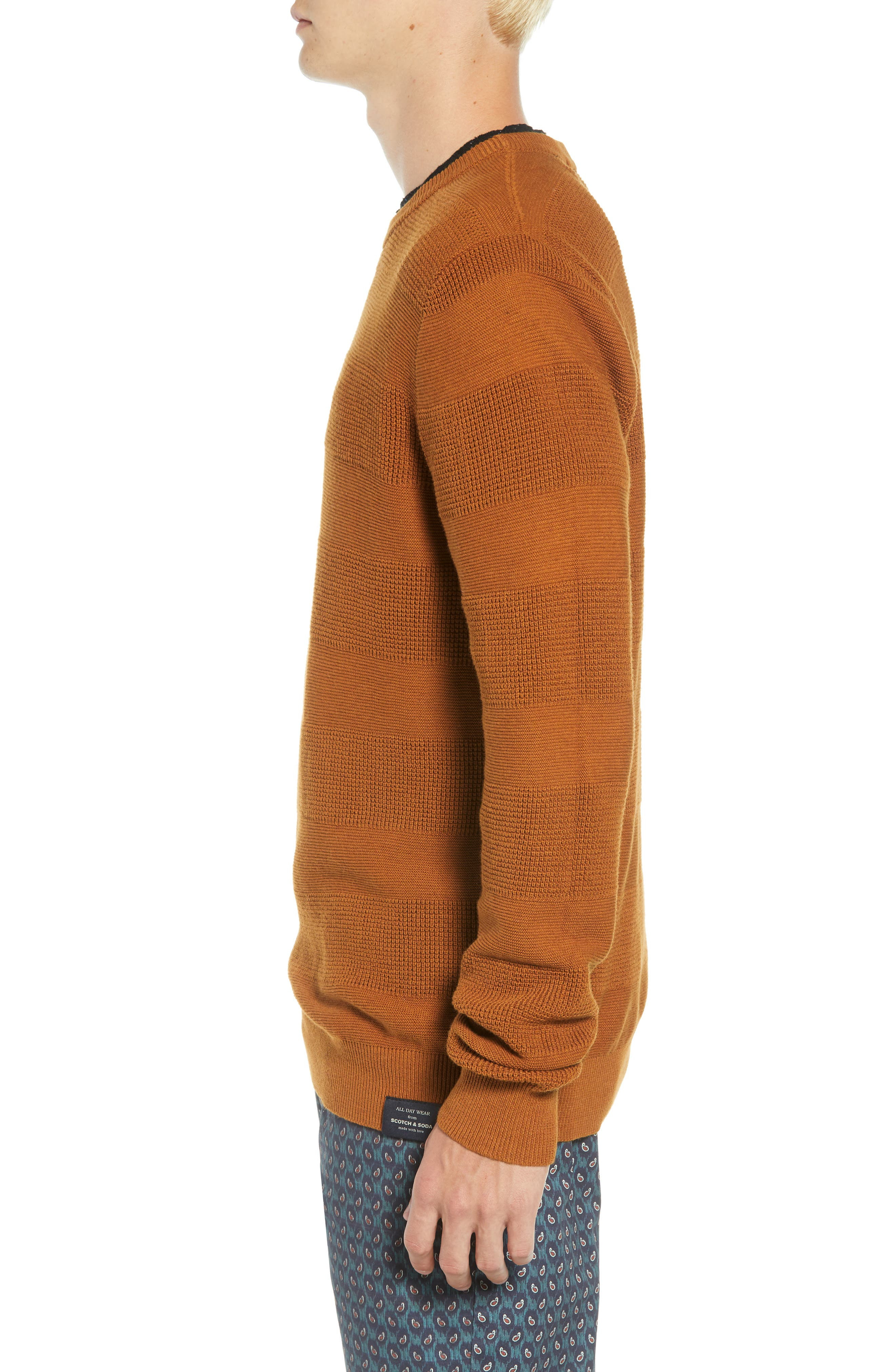Crewneck Sweater,                             Alternate thumbnail 3, color,                             800