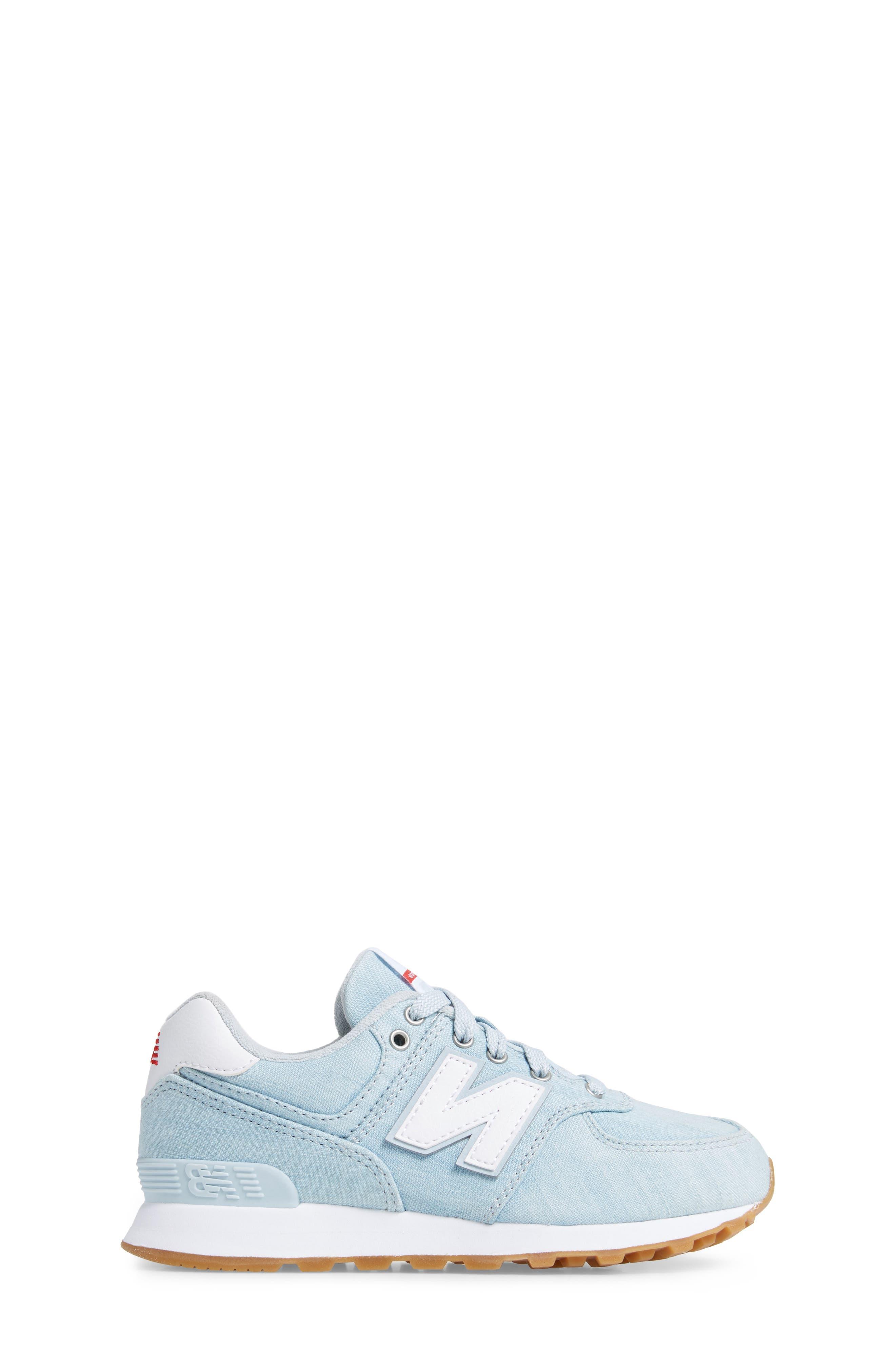 574v1 Sneaker,                             Alternate thumbnail 3, color,                             419