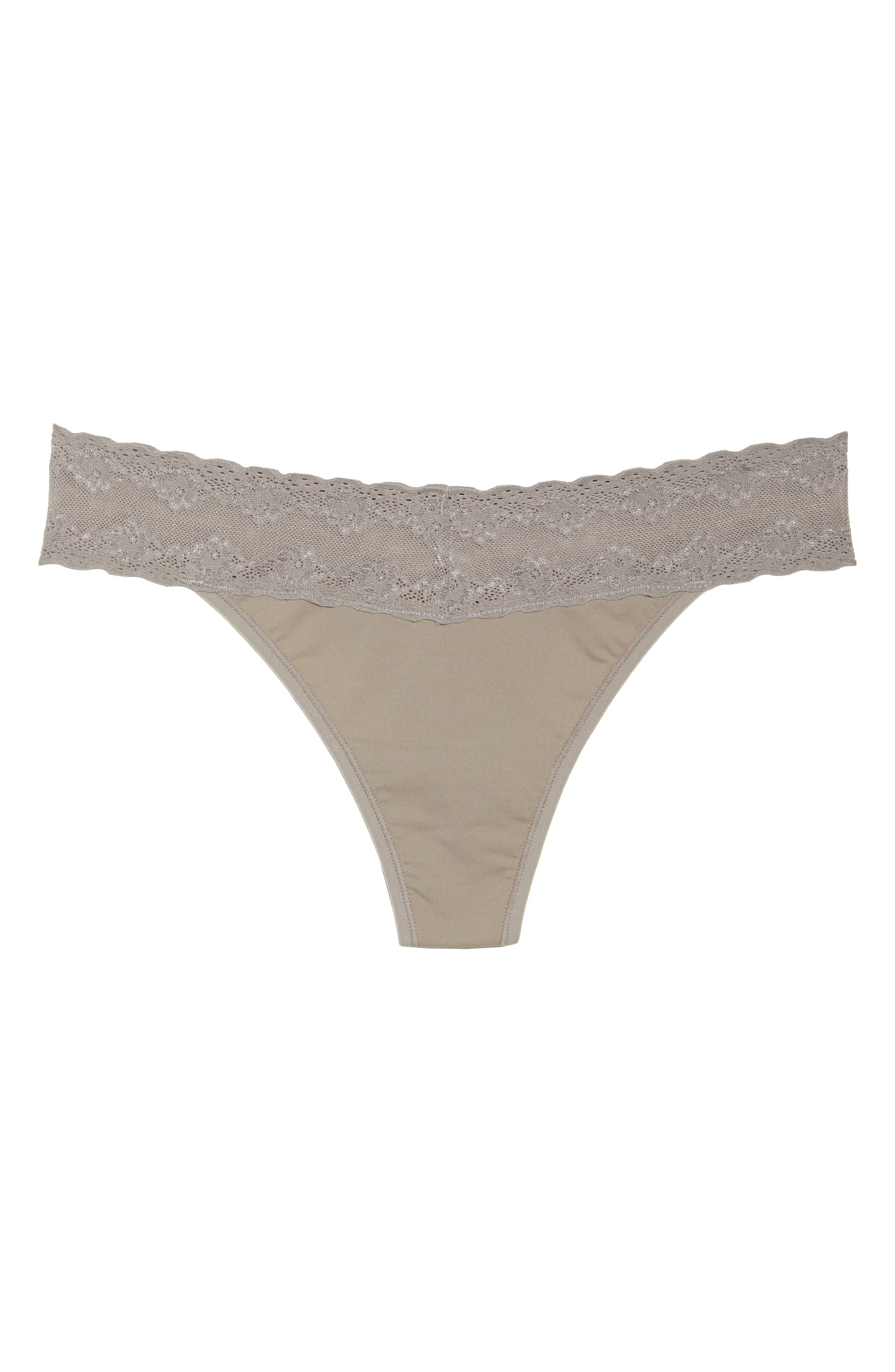 Bliss Perfection Thong,                             Alternate thumbnail 475, color,