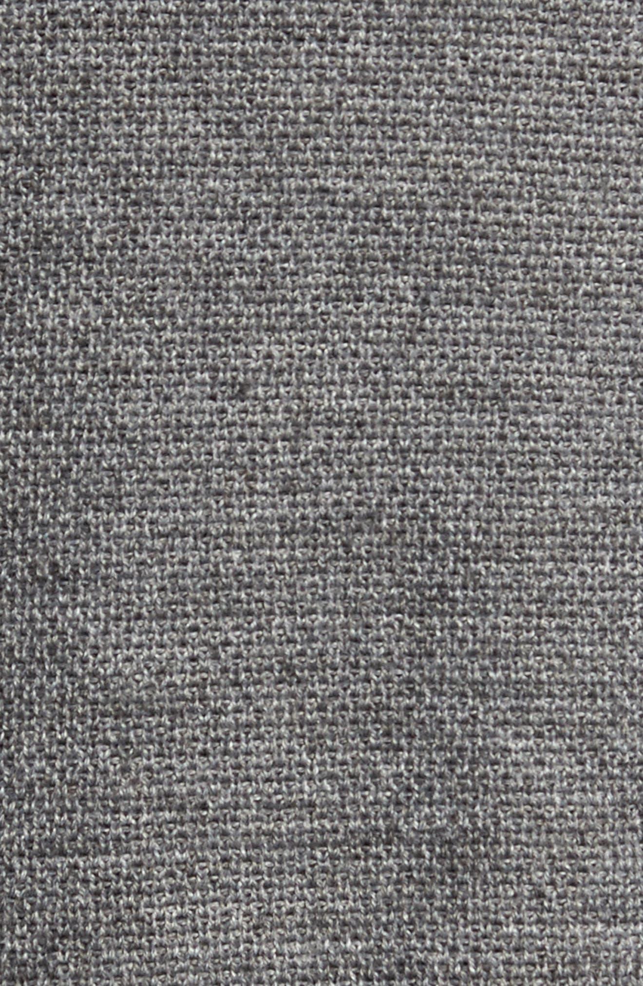 Honeycomb Zip Front Cardigan,                             Alternate thumbnail 5, color,                             030