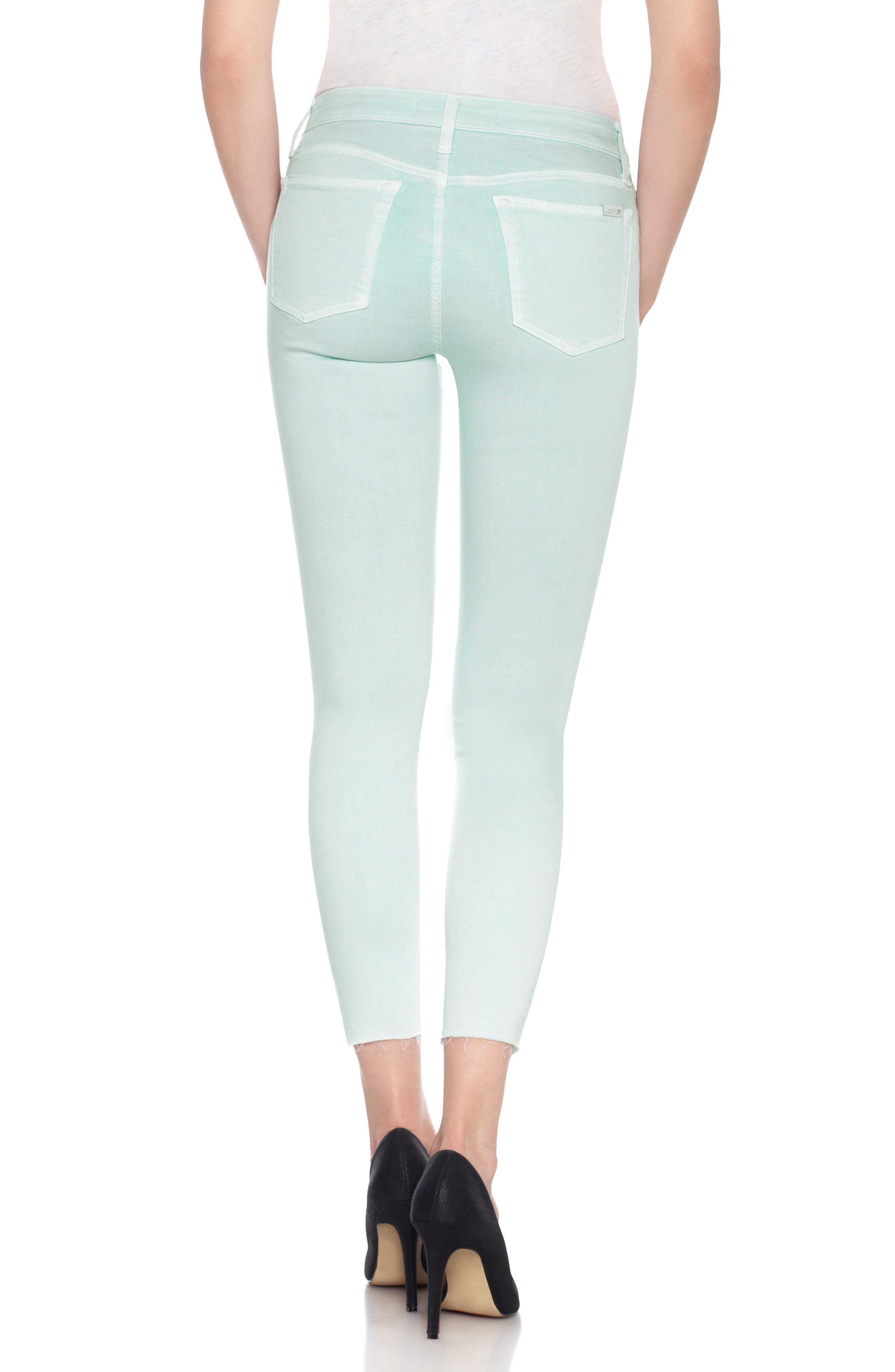 Charlie High Rise Ankle Skinny Jeans,                             Alternate thumbnail 15, color,