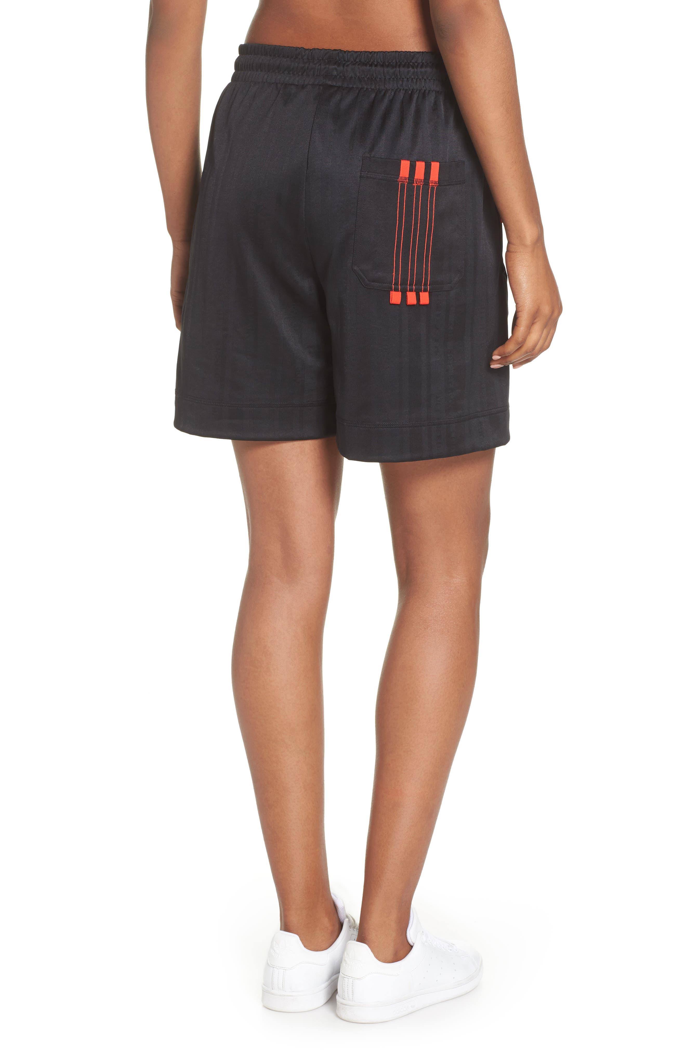 Soccer Shorts,                             Alternate thumbnail 2, color,                             BLACK/ CORE RED