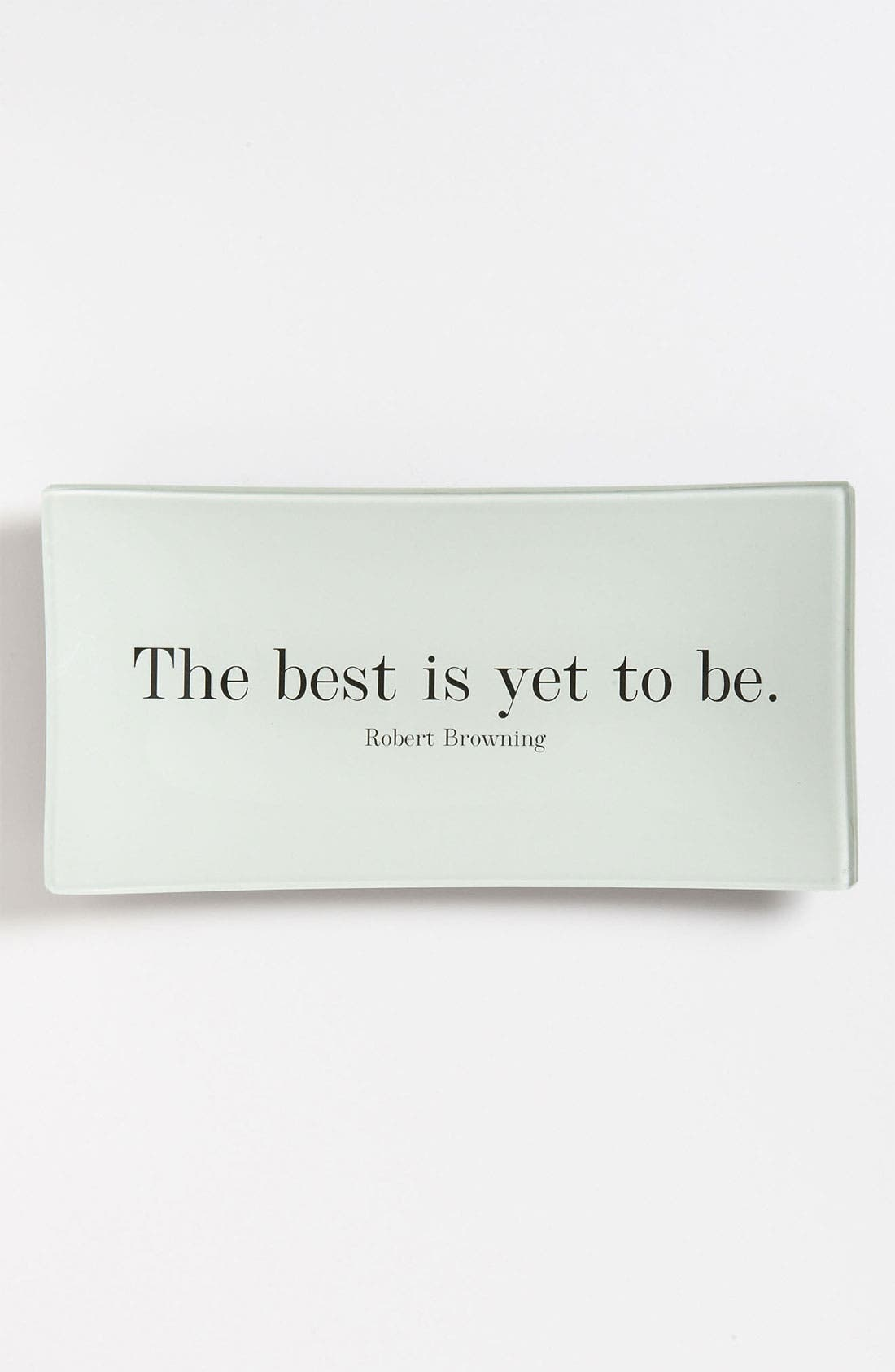 'The Best is Yet' Trinket Tray,                         Main,                         color, 960